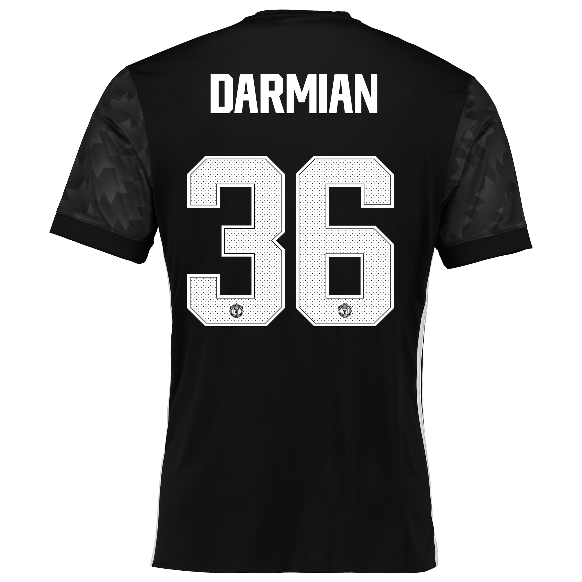 Manchester United Away Cup Shirt 2017-18 with Darmian 36 printing