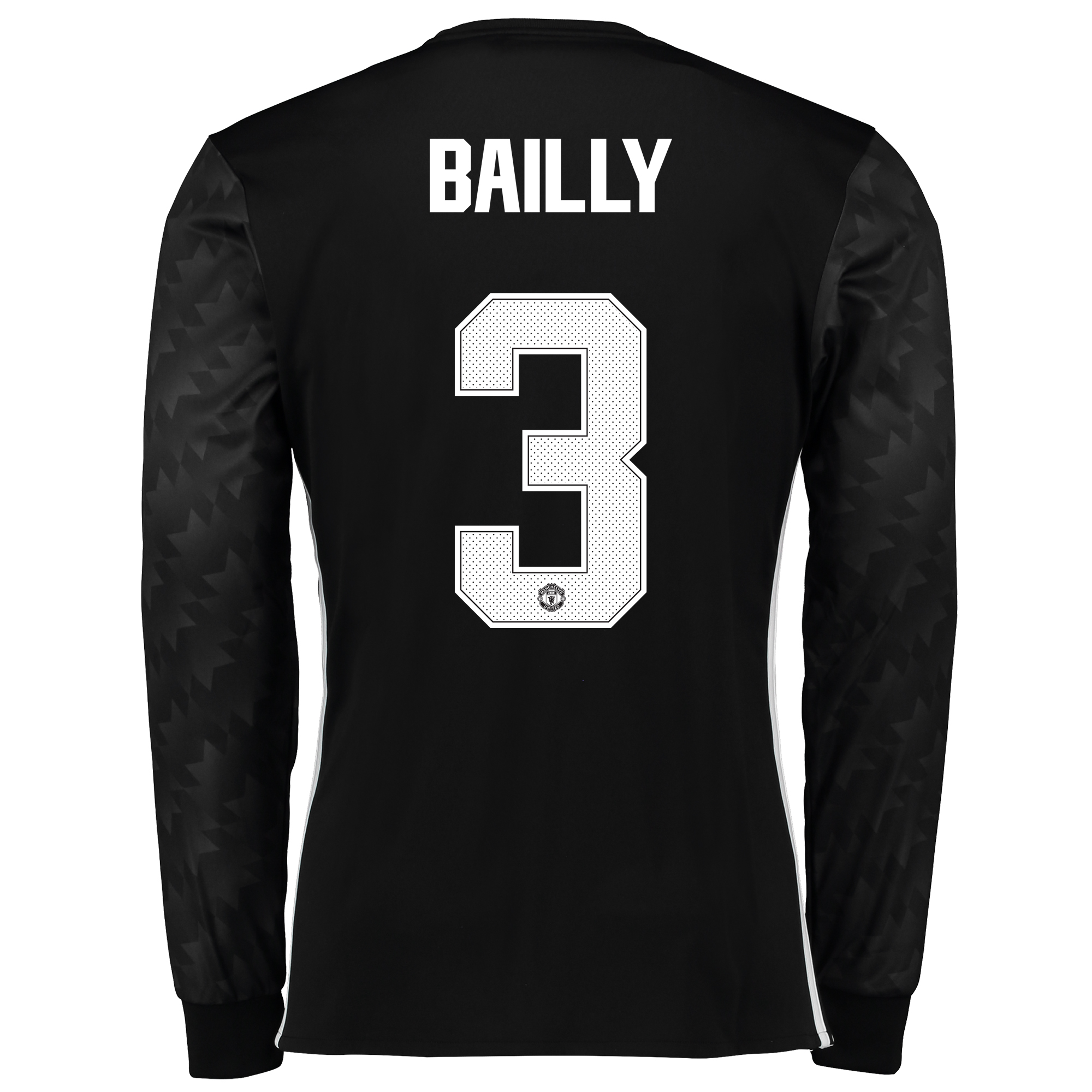 Manchester United Away Cup Shirt 2017-18 - Long Sleeve with Bailly 3 p