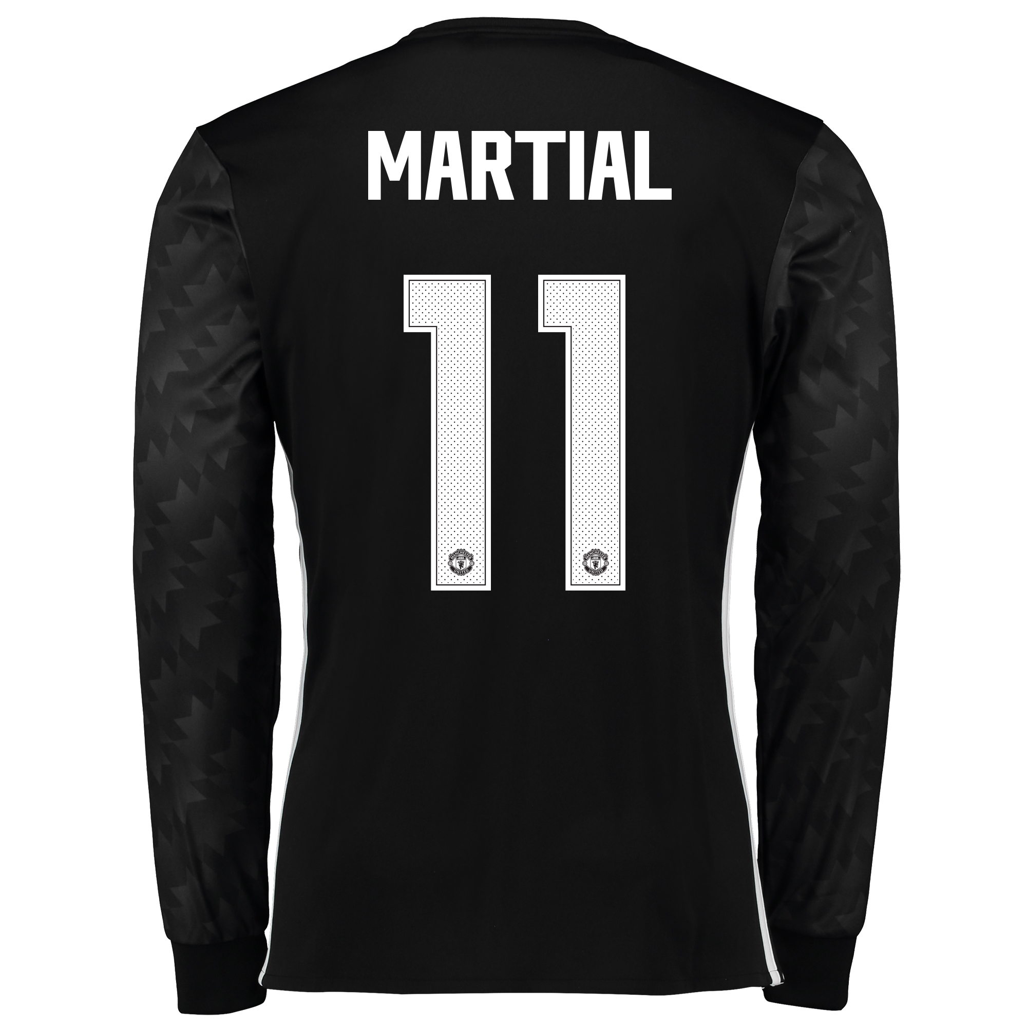 Image of Manchester United Away Cup Shirt 2017-18 - Long Sleeve with Martial 11 printing