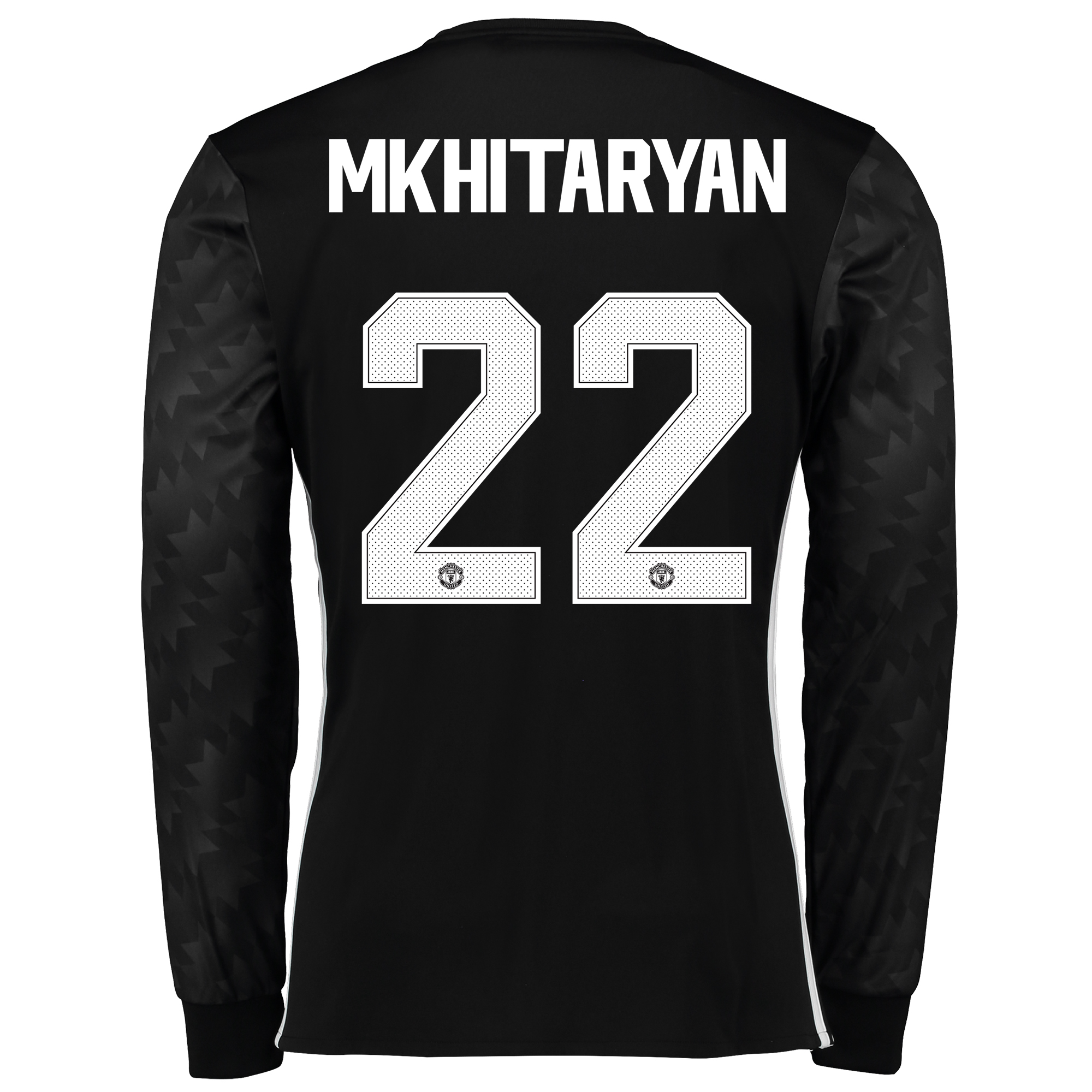 Manchester United Away Cup Shirt 2017-18 - Long Sleeve with Mkhitaryan