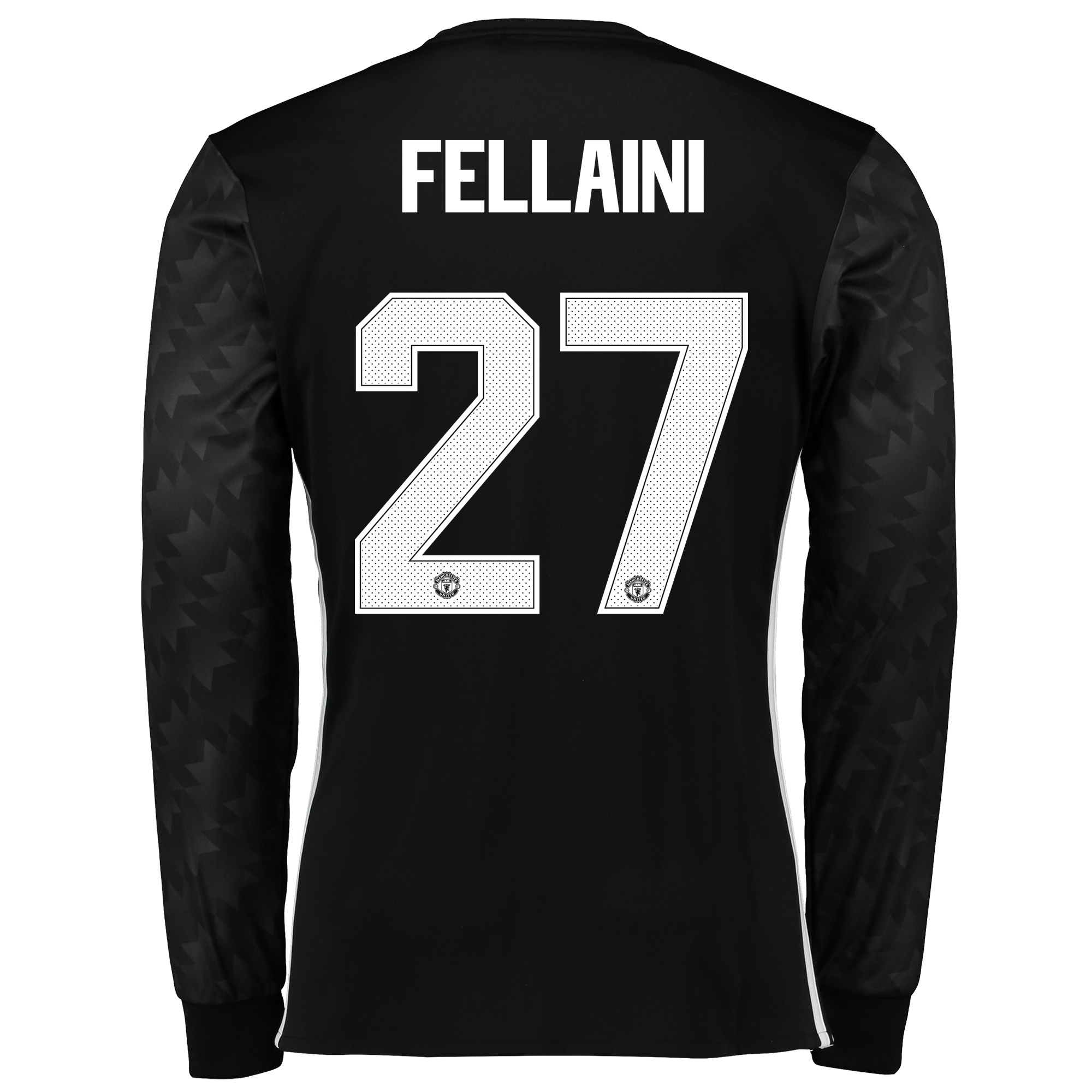 Manchester United Away Cup Shirt 2017-18 - Long Sleeve with Fellaini 2