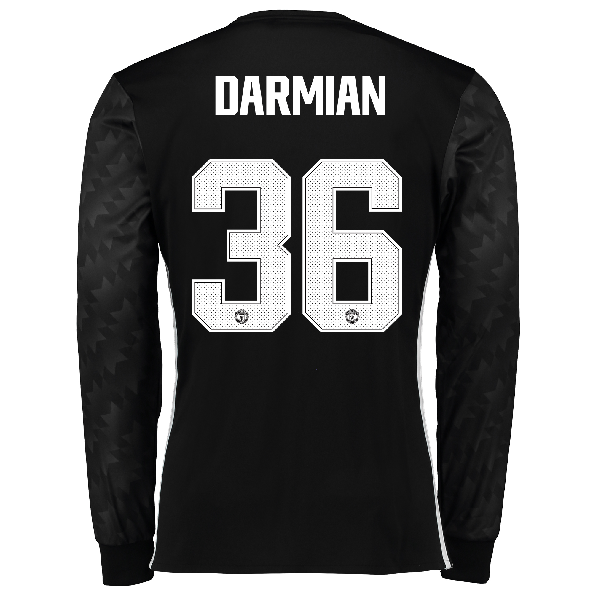 Manchester United Away Cup Shirt 2017-18 - Long Sleeve with Darmian 36