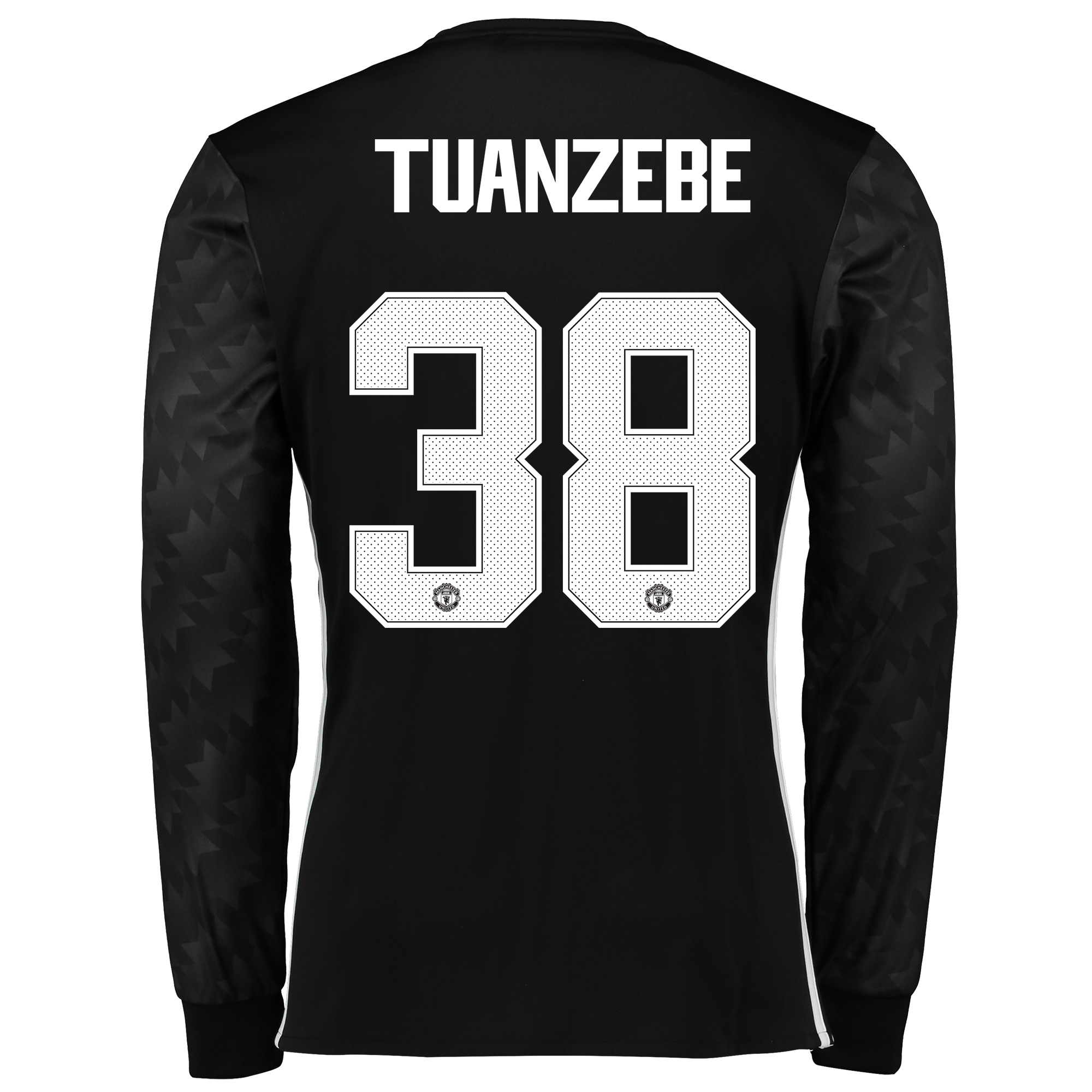Manchester United Away Cup Shirt 2017-18 - Long Sleeve with Tuanzebe 3