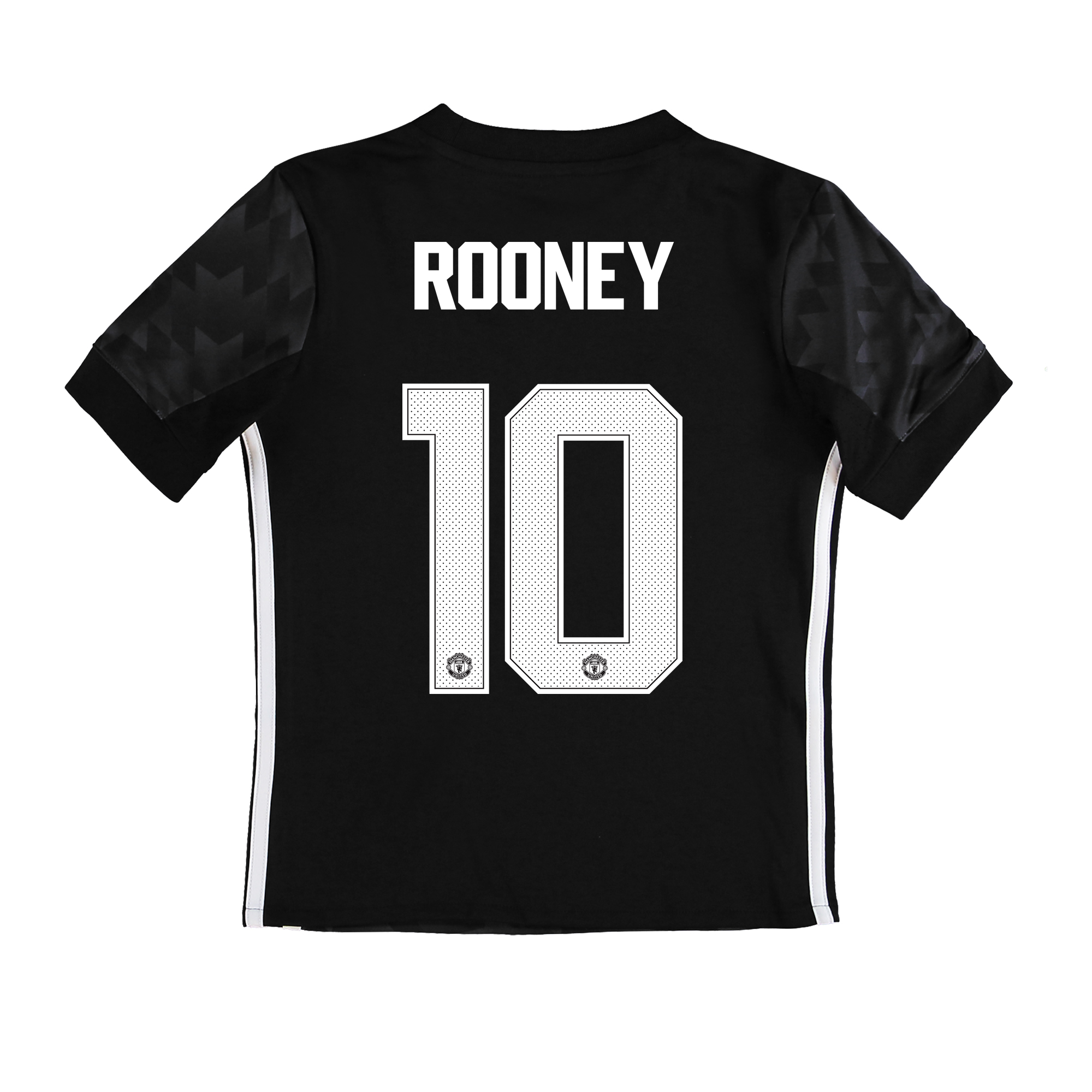 Manchester United Away Cup Shirt 2017-18 - Kids with Rooney 10 printin