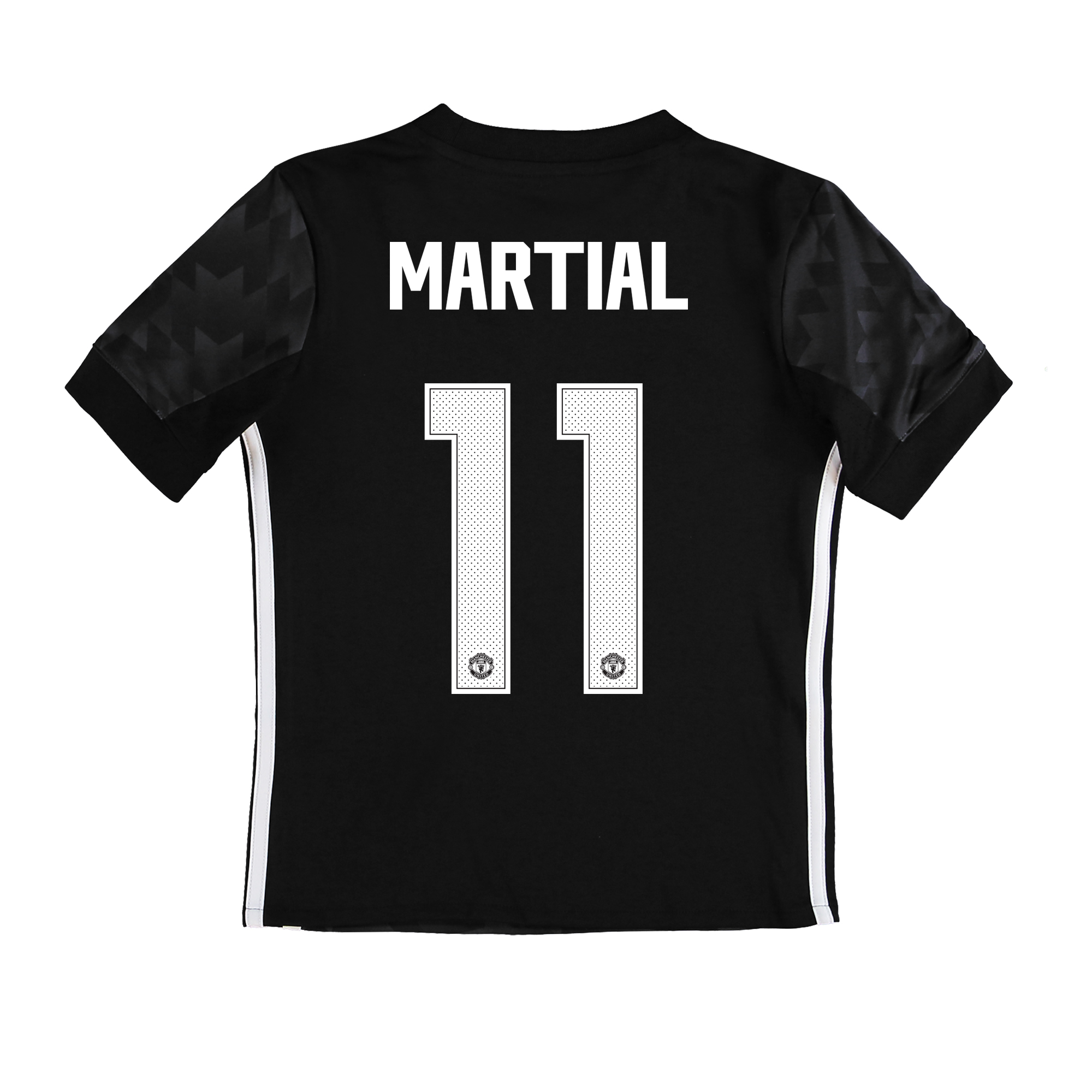 Manchester United Away Cup Shirt 2017-18 - Kids with Martial 11 printi
