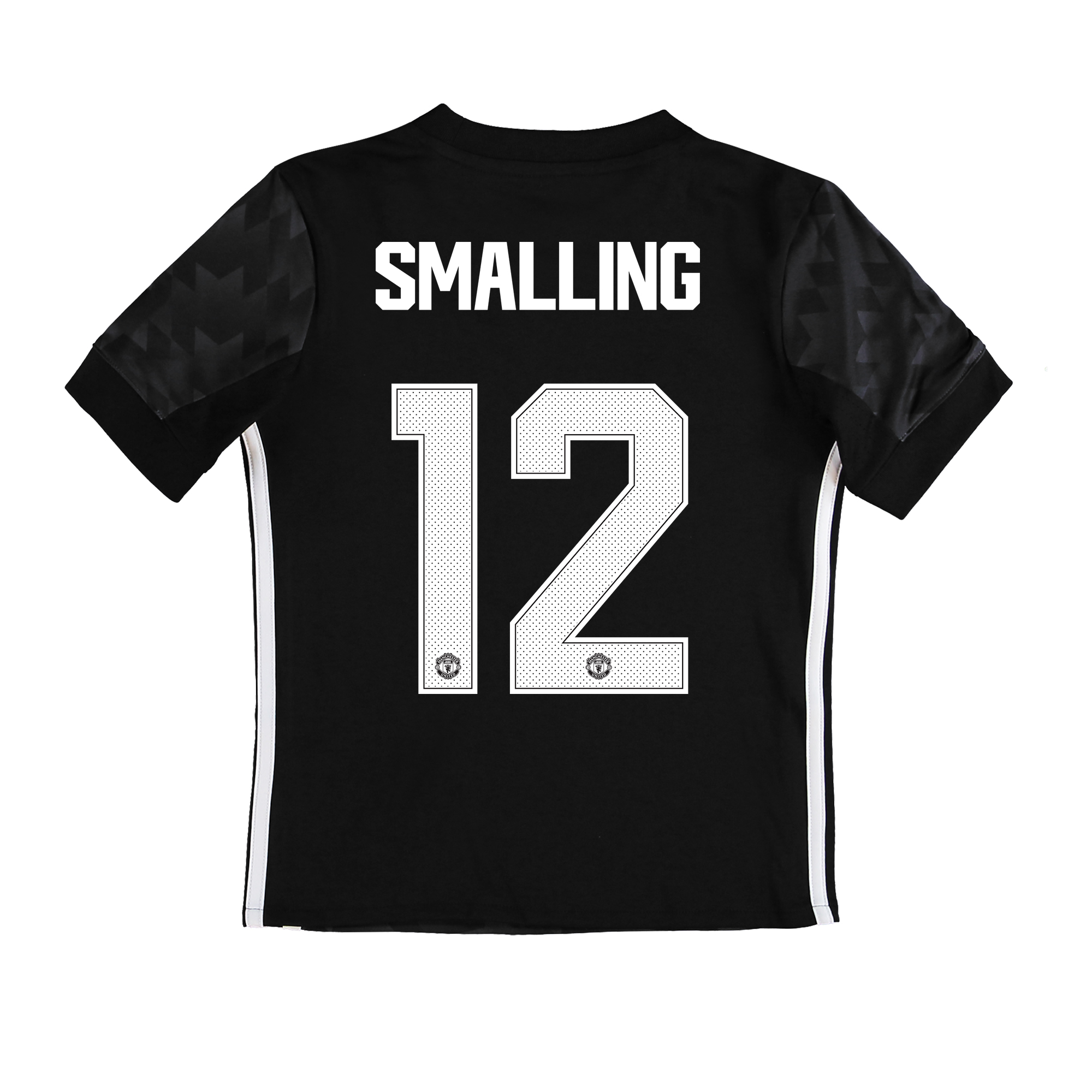 Manchester United Away Cup Shirt 2017-18 - Kids with Smalling 12 print