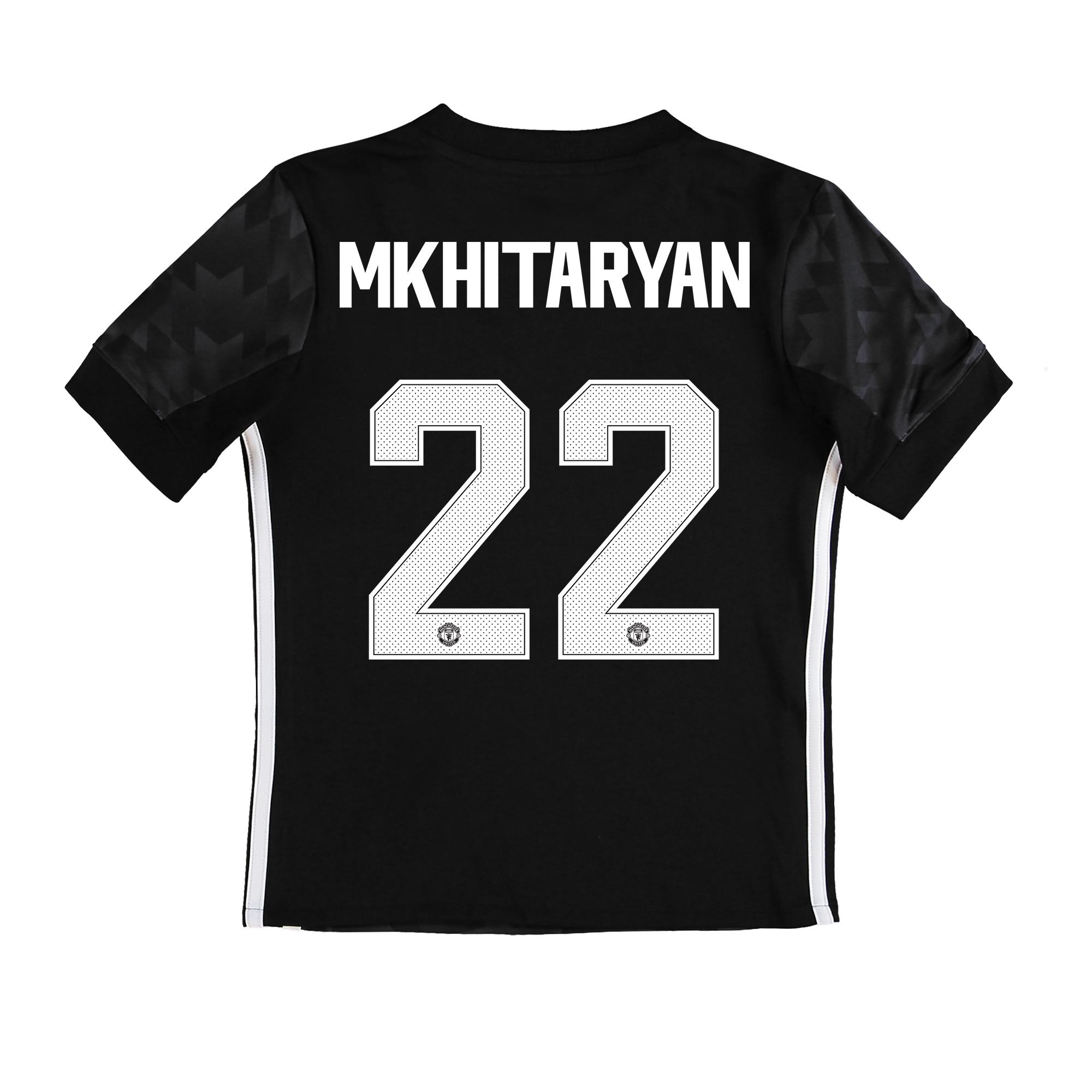 Manchester United Away Cup Shirt 2017-18 - Kids with Mkhitaryan 22 pri