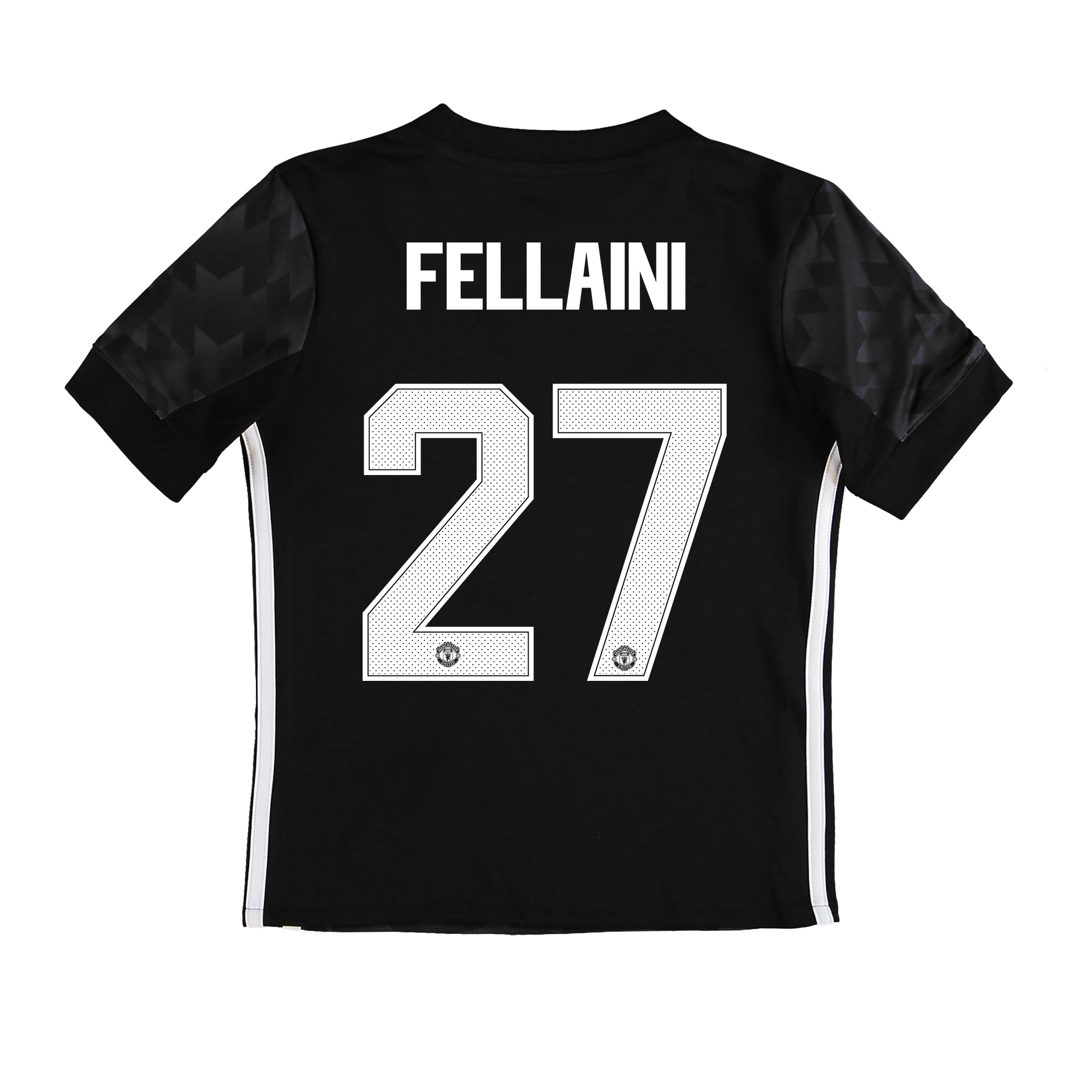 Manchester United Away Cup Shirt 2017-18 - Kids with Fellaini 27 print