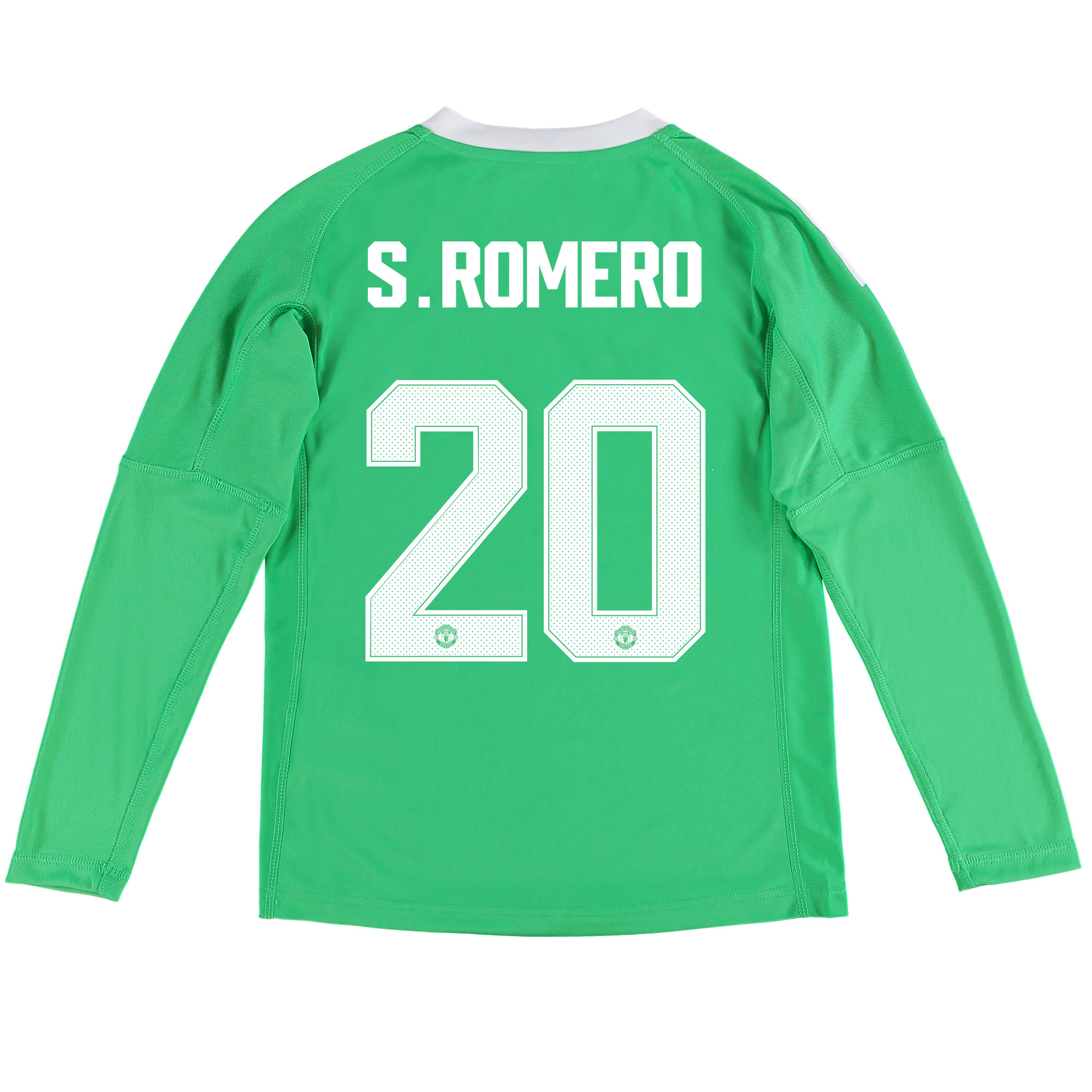 Manchester United Away Goalkeeper Cup Shirt 2017-18 - Kids with S.Rome