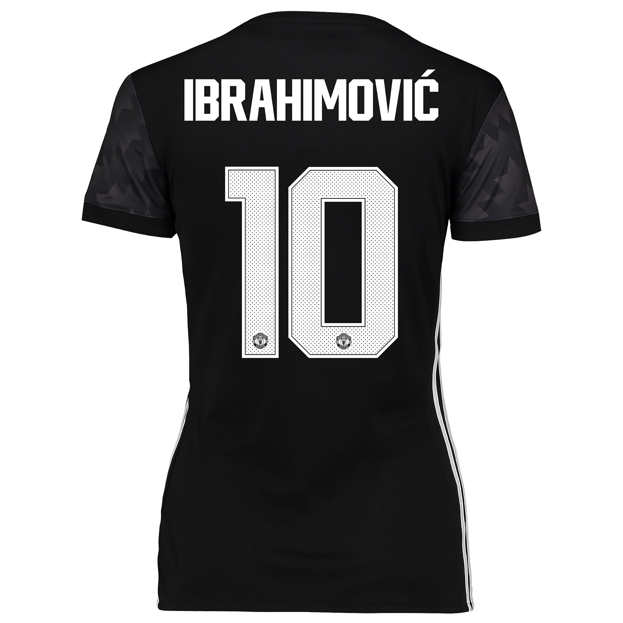 Manchester United Away Cup Shirt 2017-18 - Womens with Ibrahimovic 10