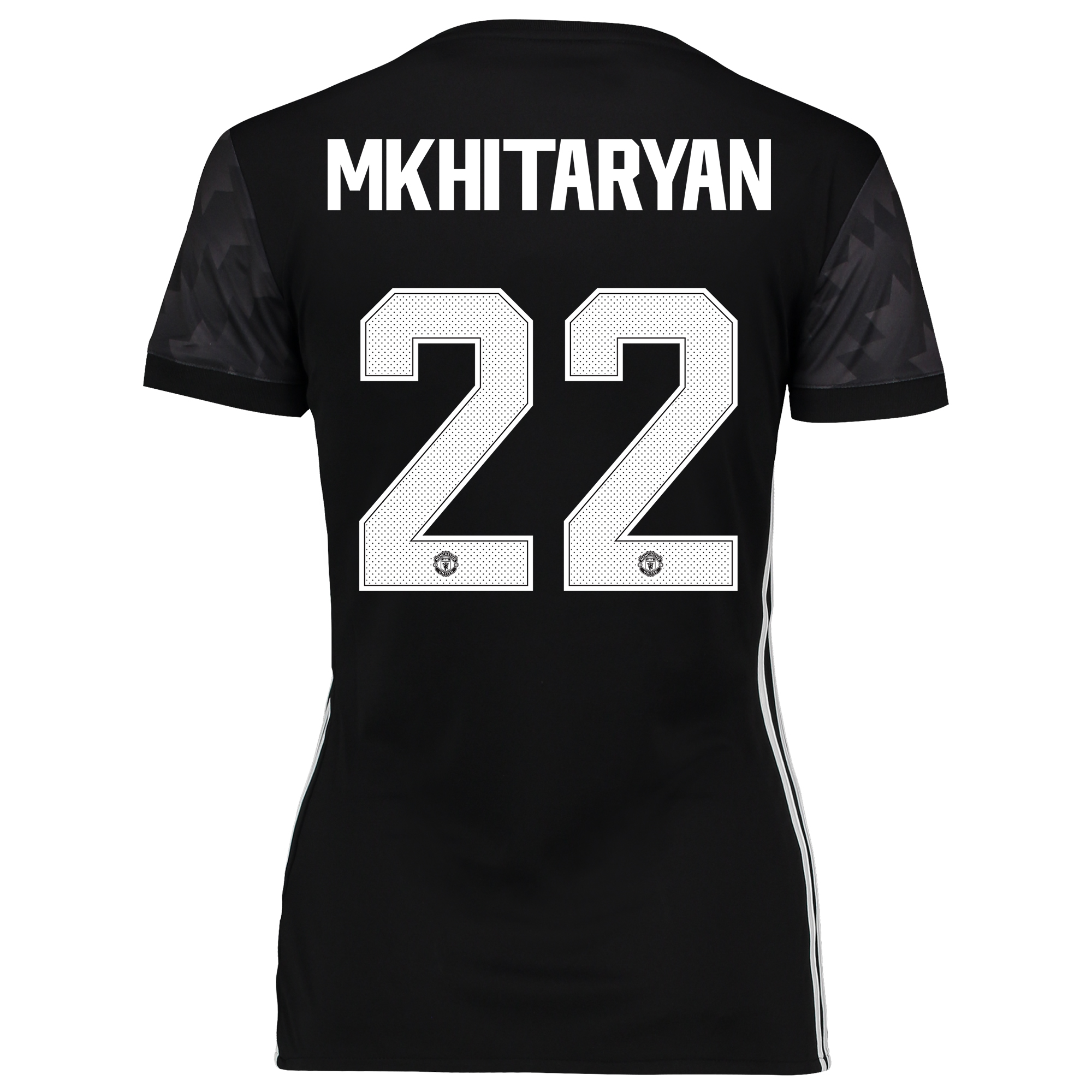 Manchester United Away Cup Shirt 2017-18 - Womens with Mkhitaryan 22 p