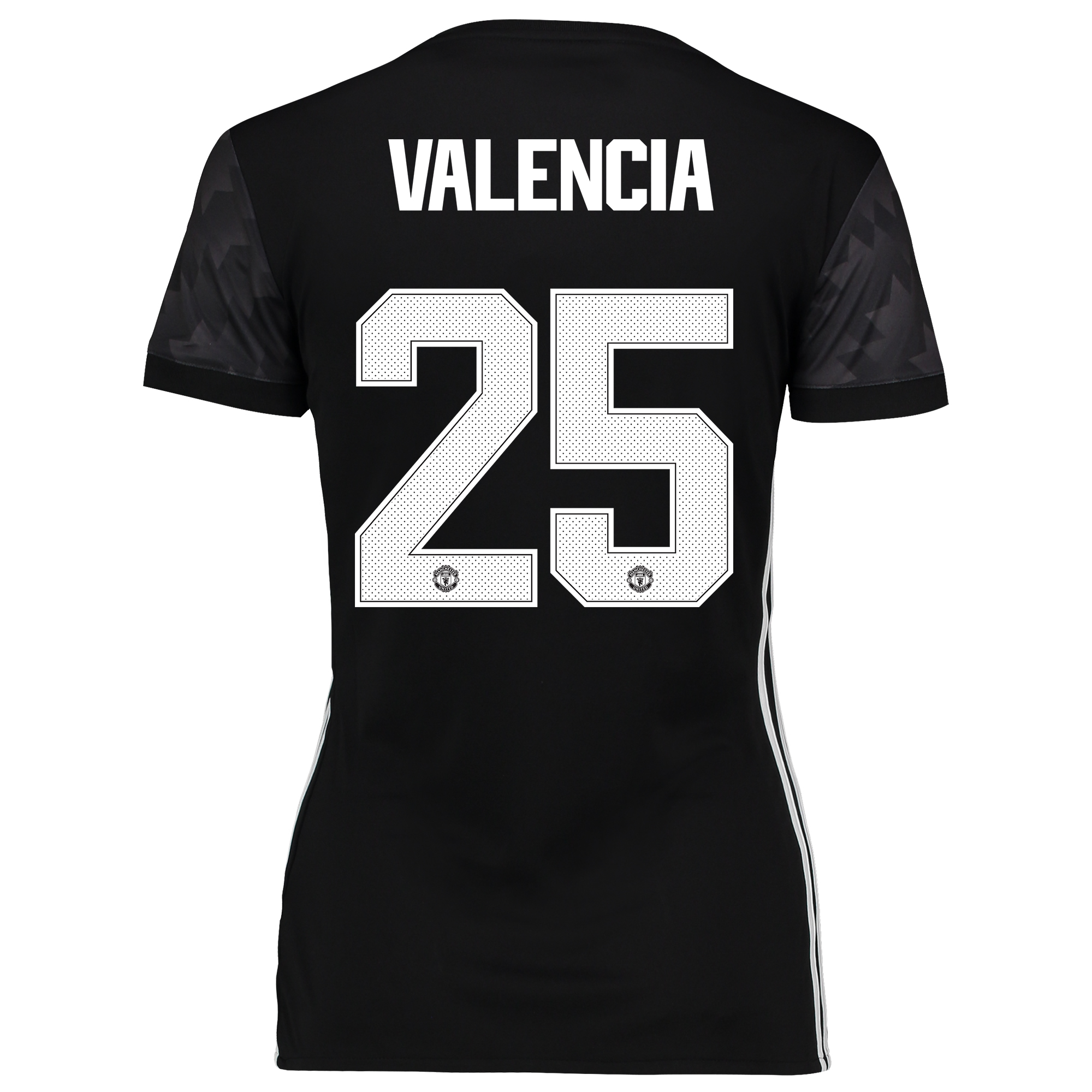 Manchester United Away Cup Shirt 2017-18 - Womens with Valencia 25 pri