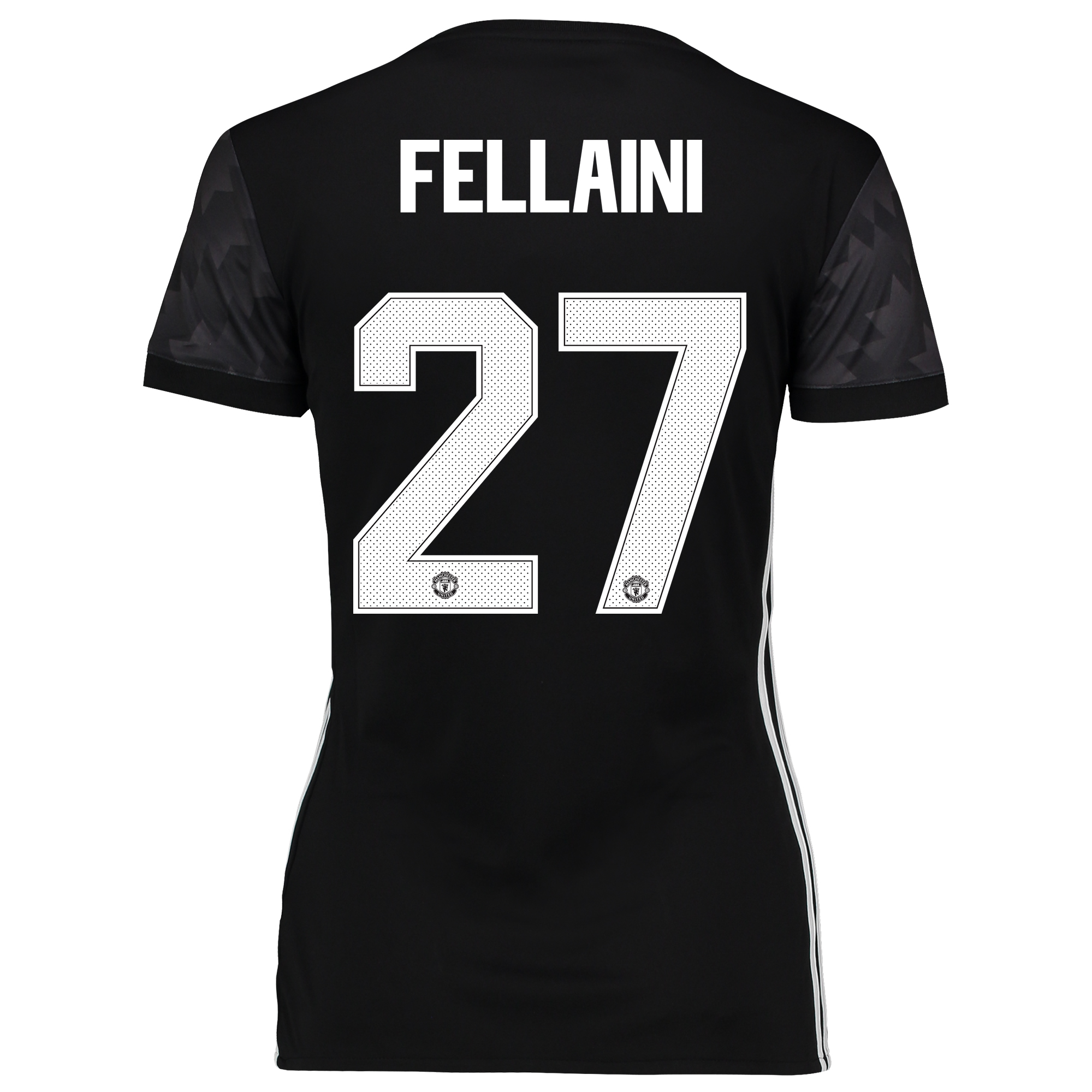 Image of Manchester United Away Cup Shirt 2017-18 - Womens with Fellaini 27 printing