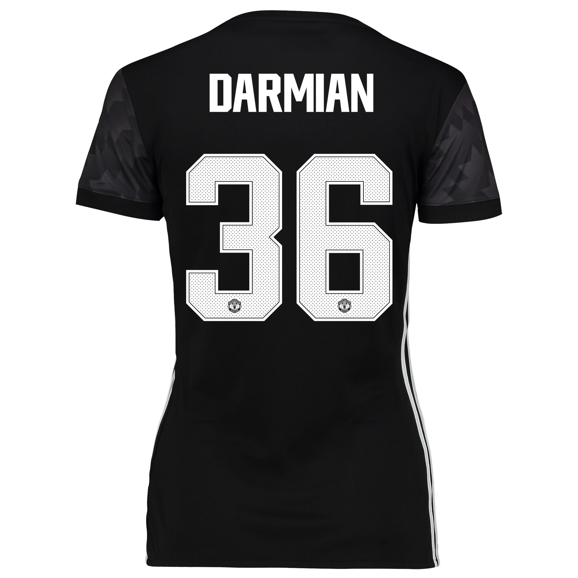 Image of Manchester United Away Cup Shirt 2017-18 - Womens with Darmian 36 printing