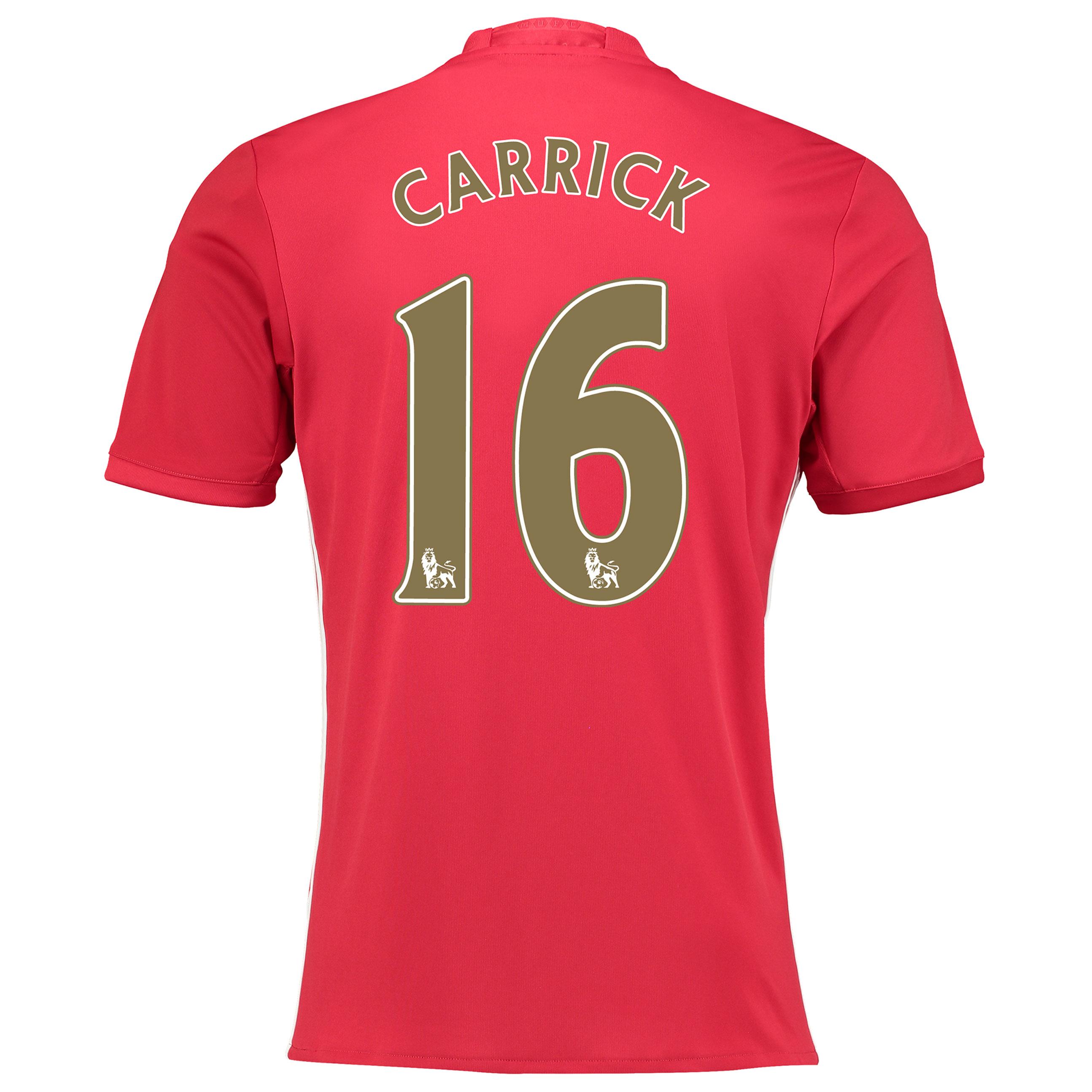 Manchester United Carrick Testimonial Home Shirt 2016-17