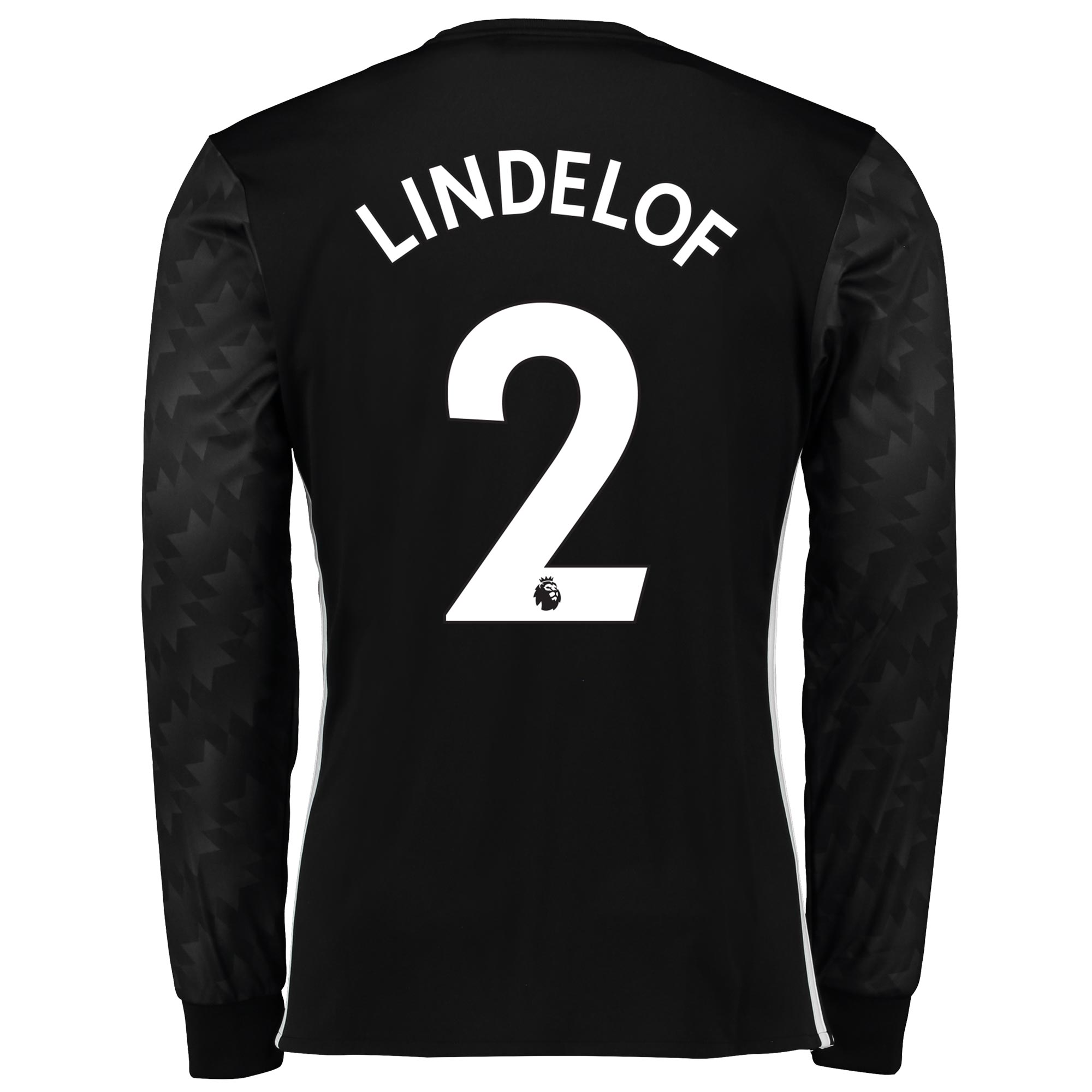 Manchester United Away Shirt 2017-18 - Long Sleeve with Lindelof TBC p