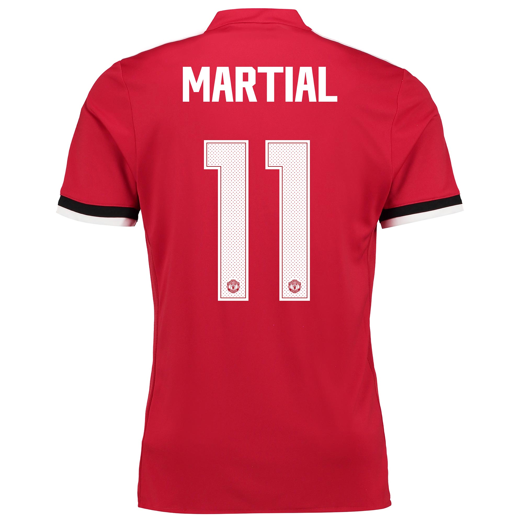 Manchester United Home Cup Shirt 2017-18 with Martial 11 printing