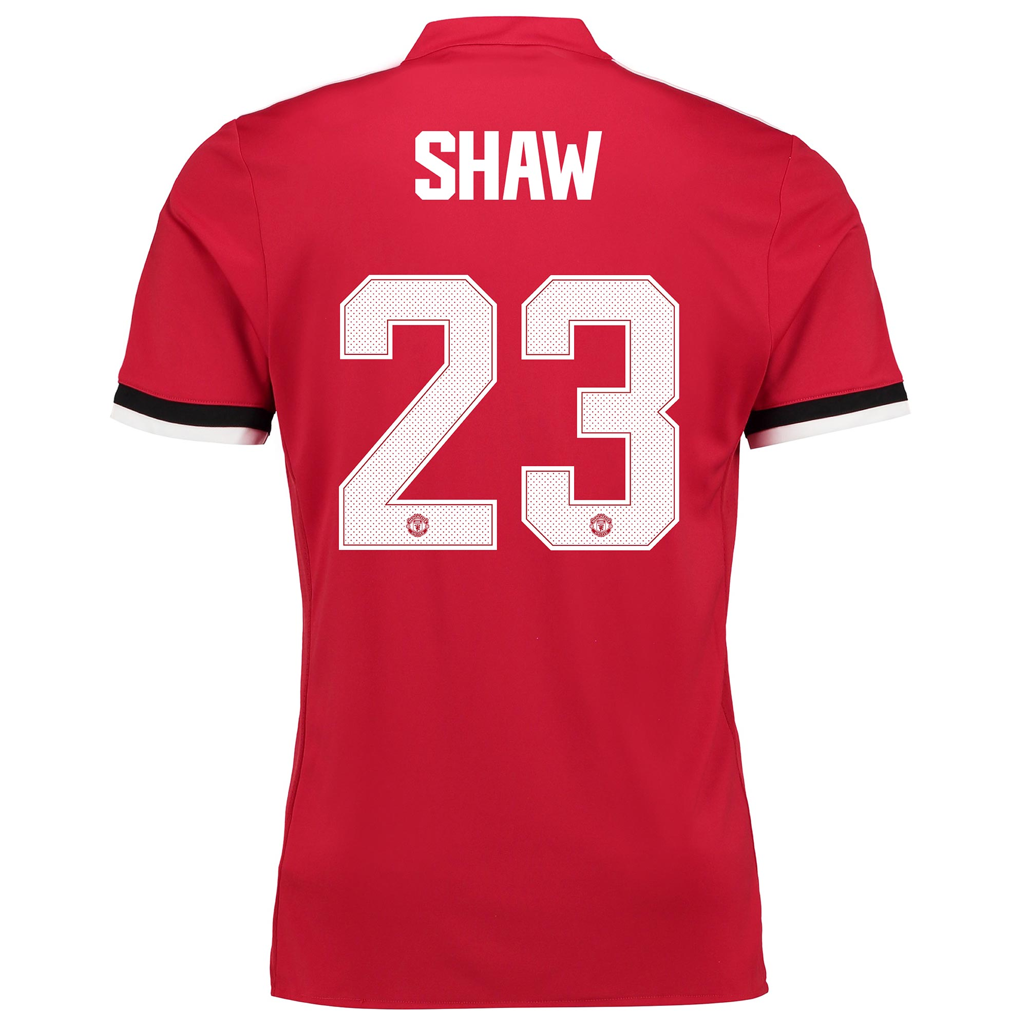 Manchester United Home Cup Shirt 2017-18 with Shaw 23 printing
