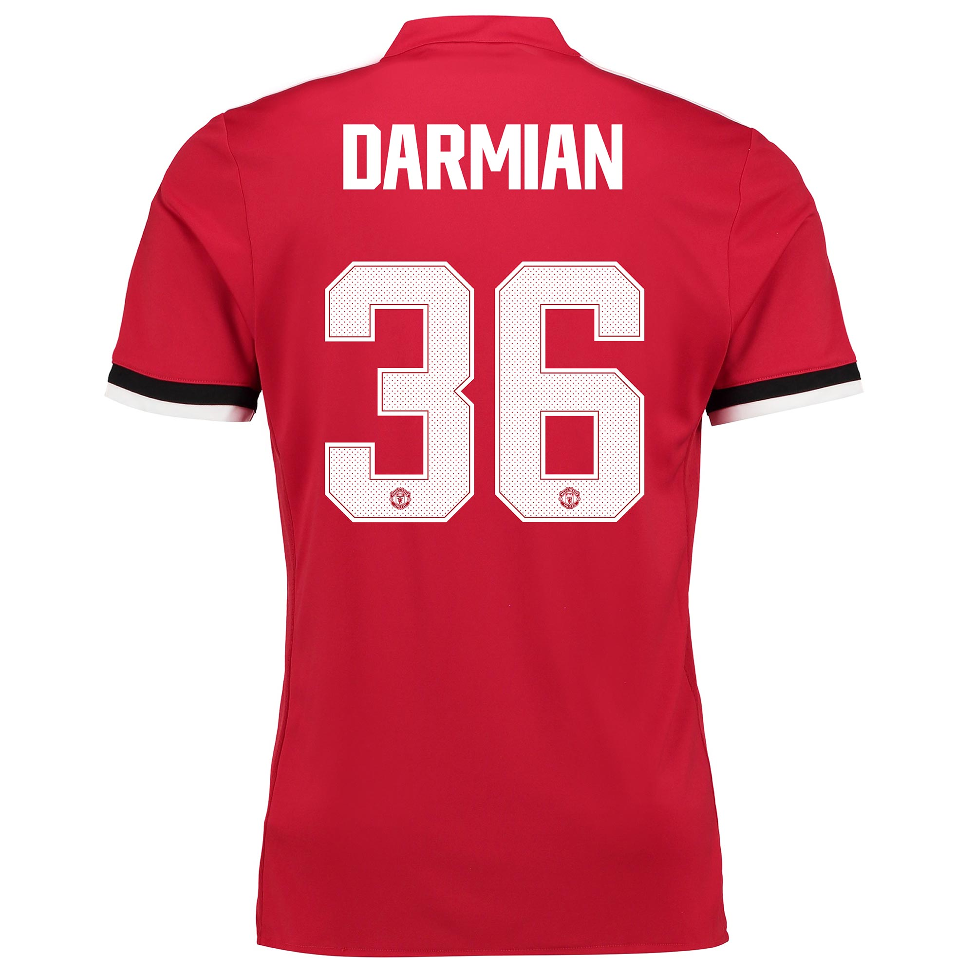 Manchester United Home Cup Shirt 2017-18 with Darmian 36 printing