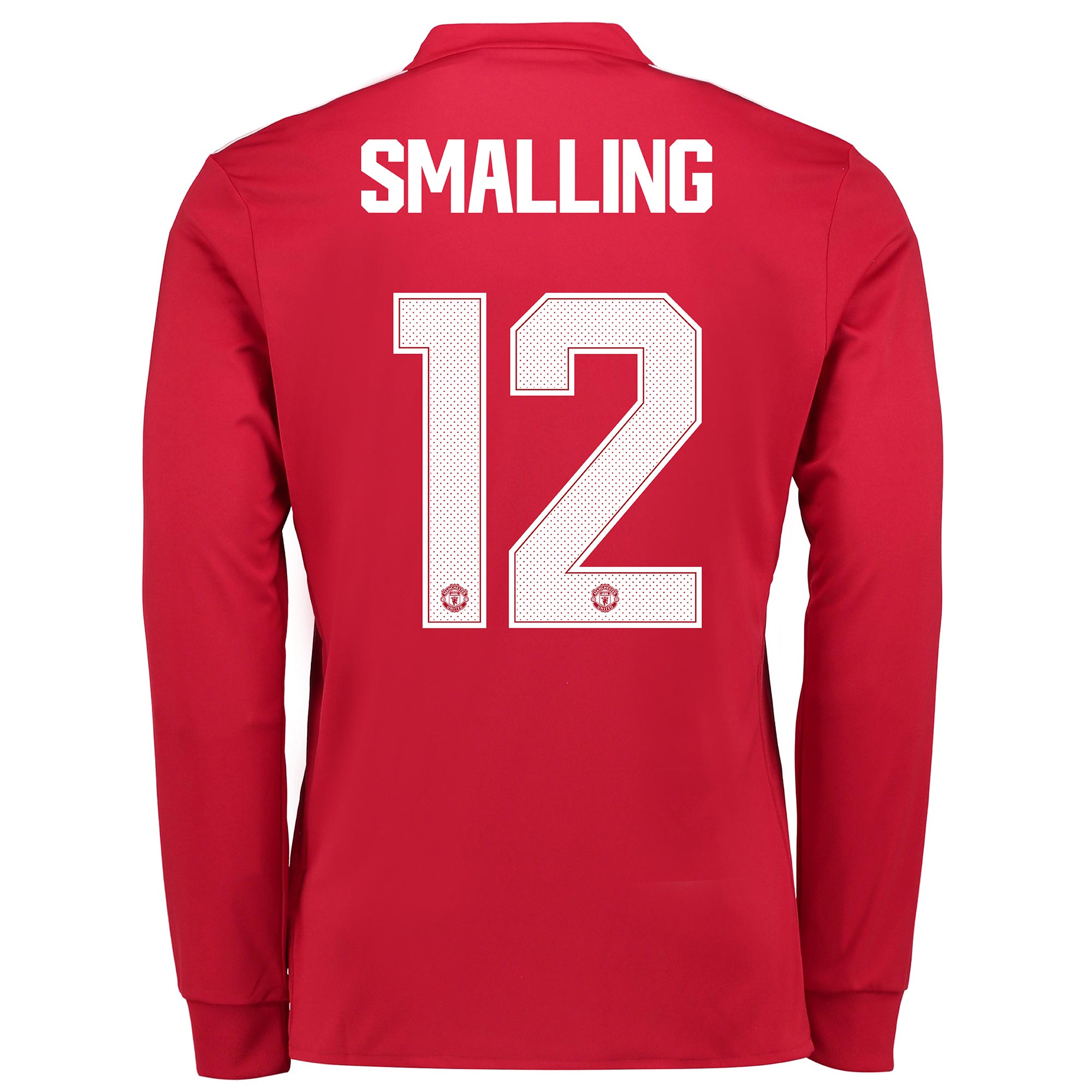 Manchester United Home Cup Shirt 2017-18 - Long Sleeve with Smalling 1
