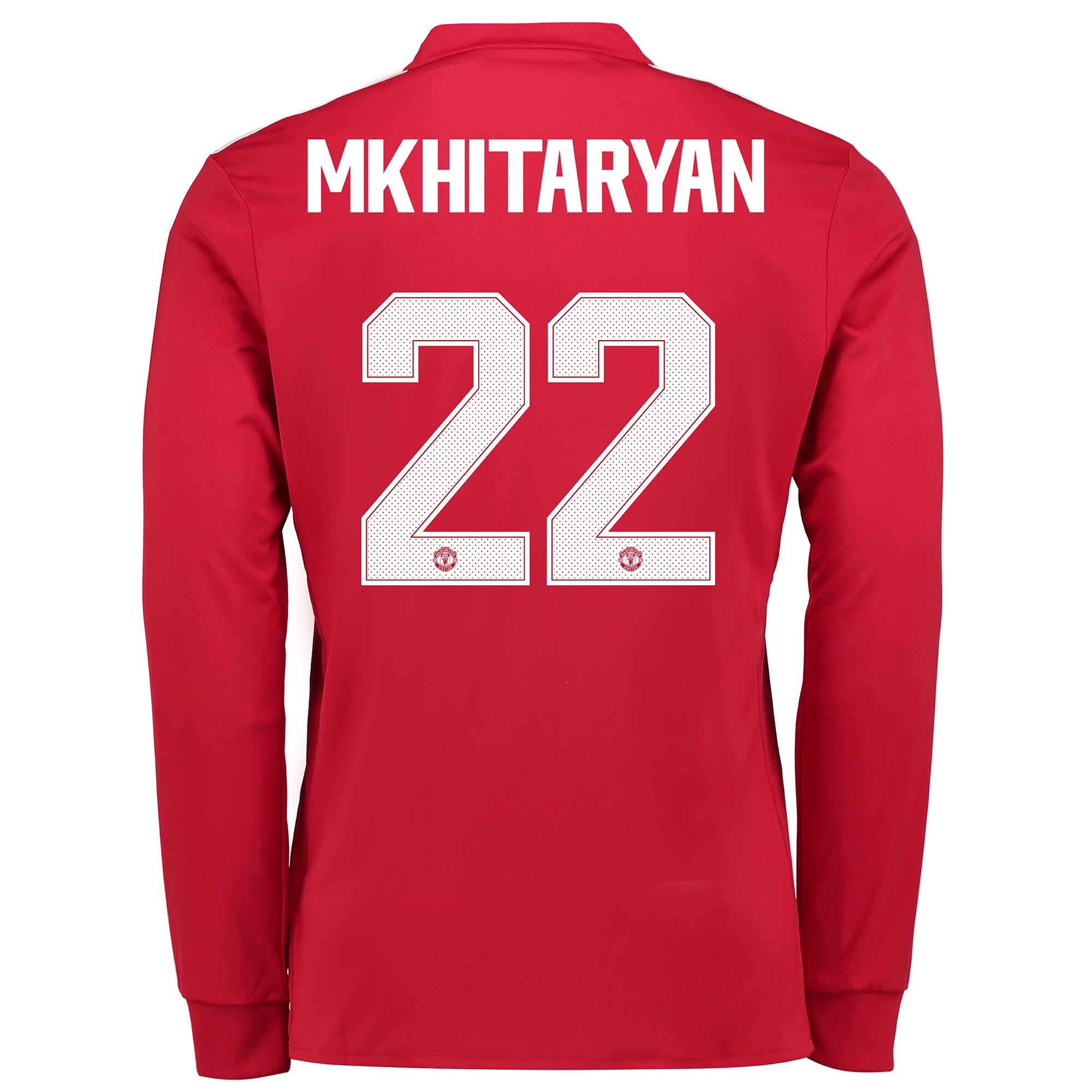 Manchester United Home Cup Shirt 2017-18 - Long Sleeve with Mkhitaryan