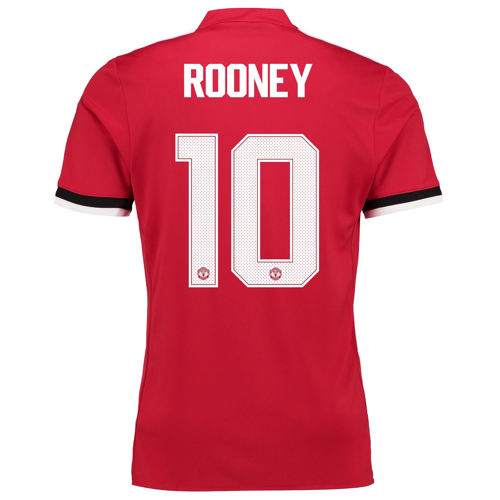 Manchester United Home Cup Shirt 2017-18 - Kids with Rooney 10 printin