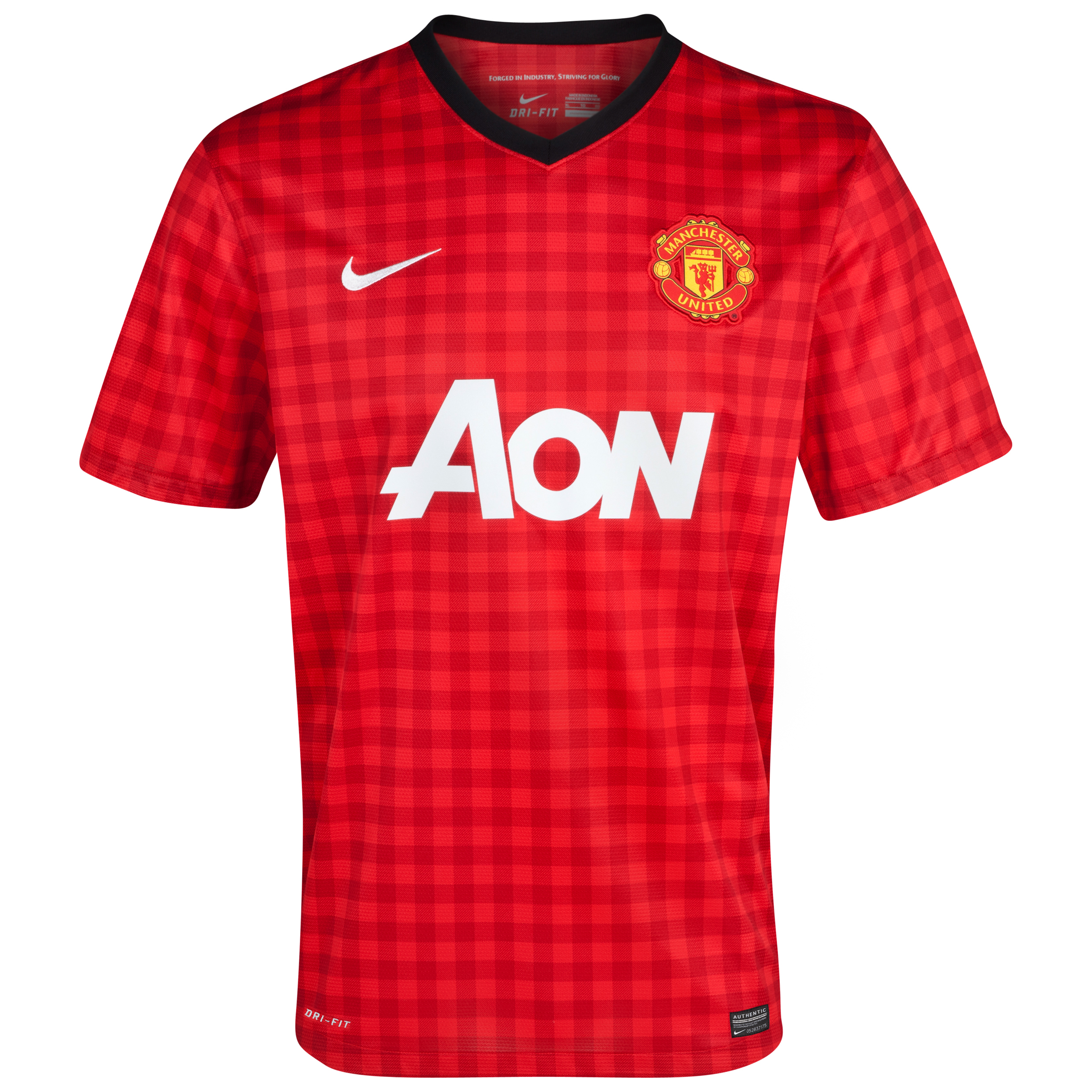 Manchester United Home Shirt 2012/13