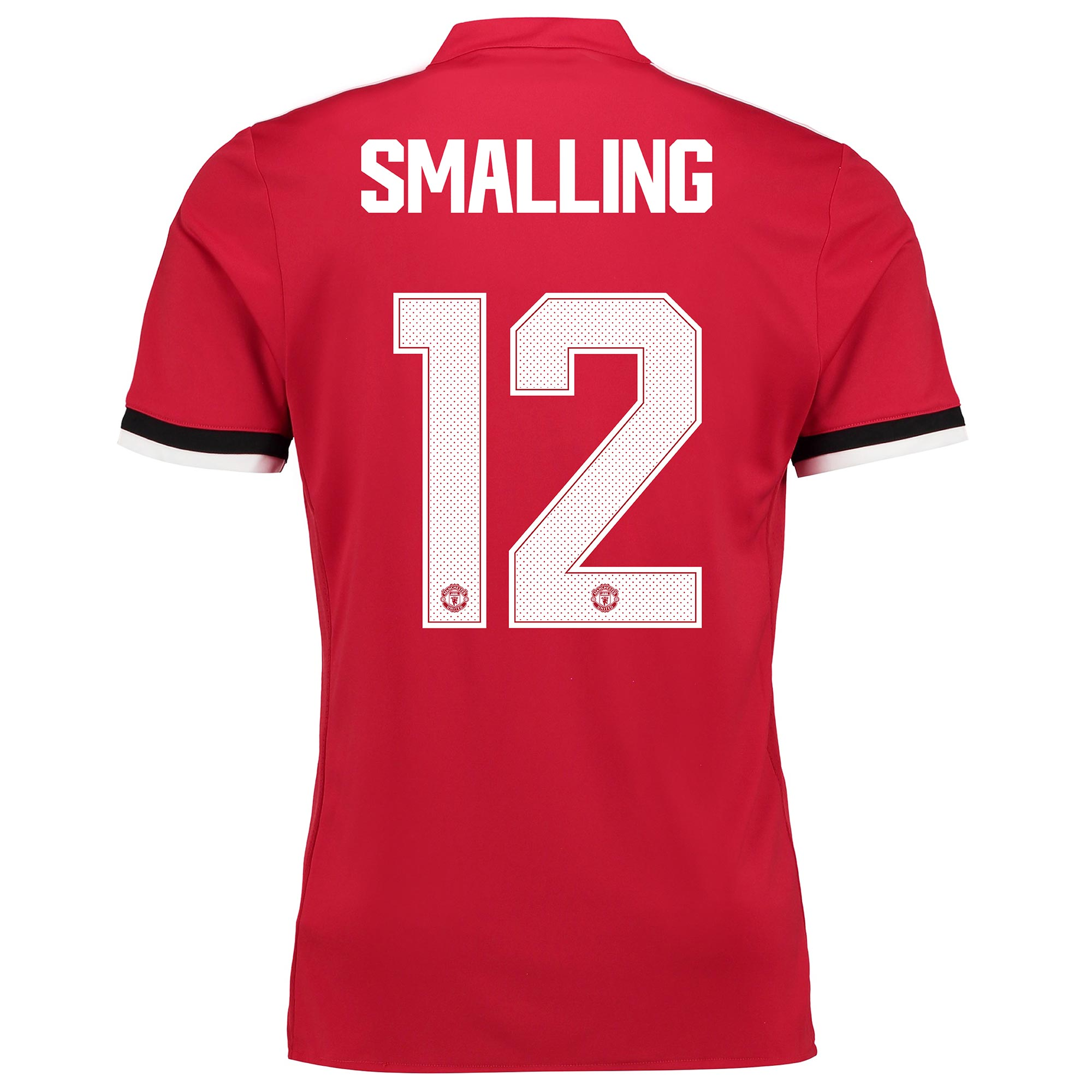 Manchester United Home Cup Shirt 2017-18 - Kids with Smalling 12 print