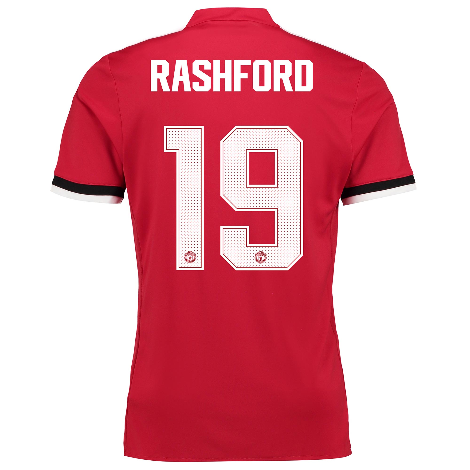 Manchester United Home Cup Shirt 2017-18 - Kids with Rashford 19 print