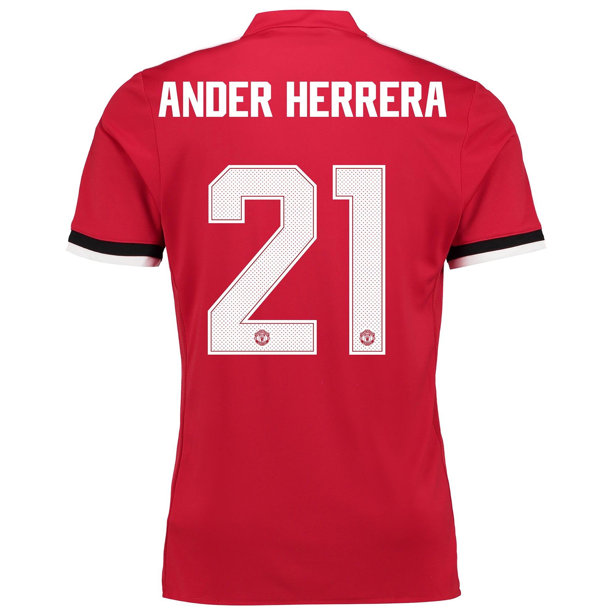 Manchester United Home Cup Shirt 2017-18 - Kids with Ander Herrera 21