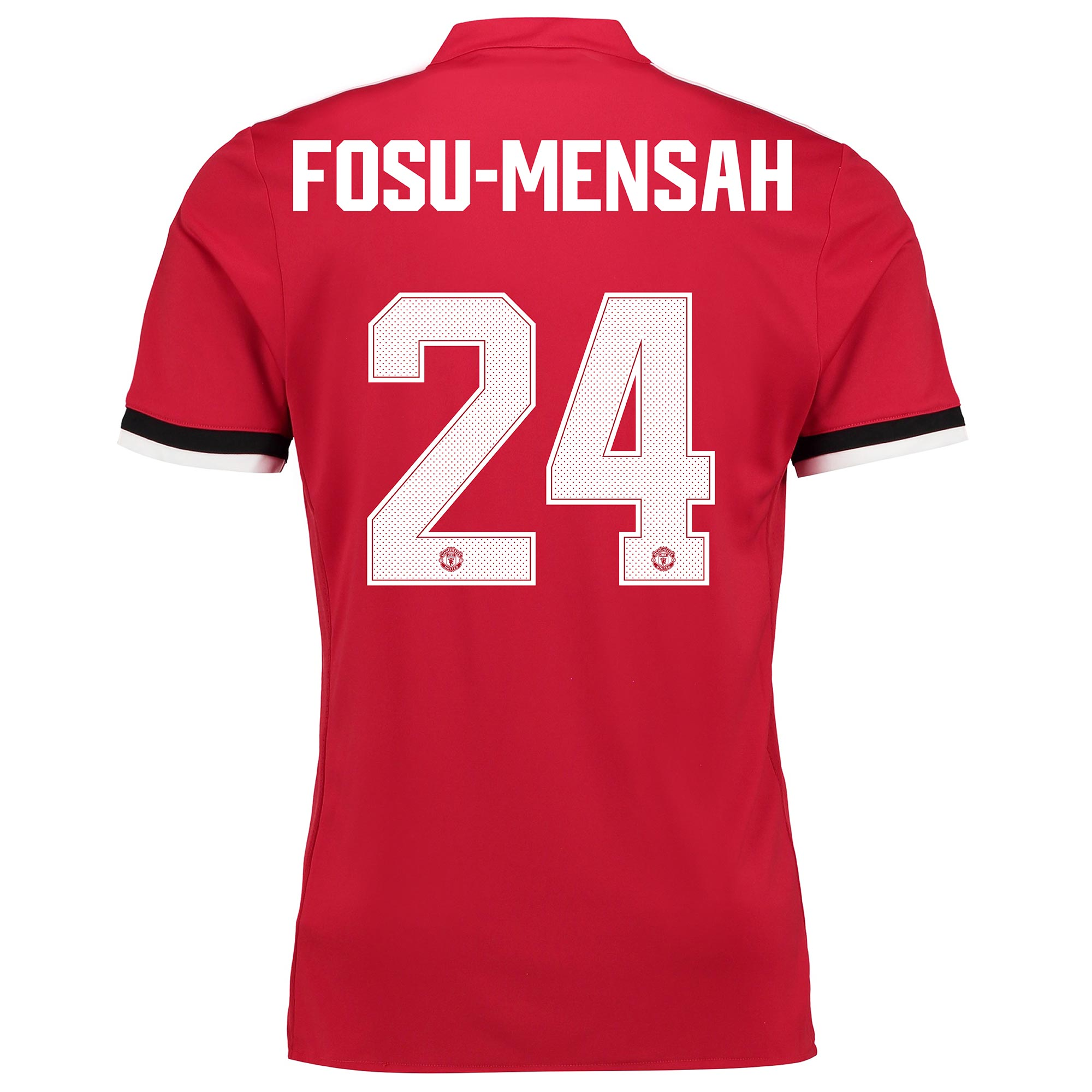 Manchester United Home Cup Shirt 2017-18 - Kids with Fosu-Mensah 24 pr