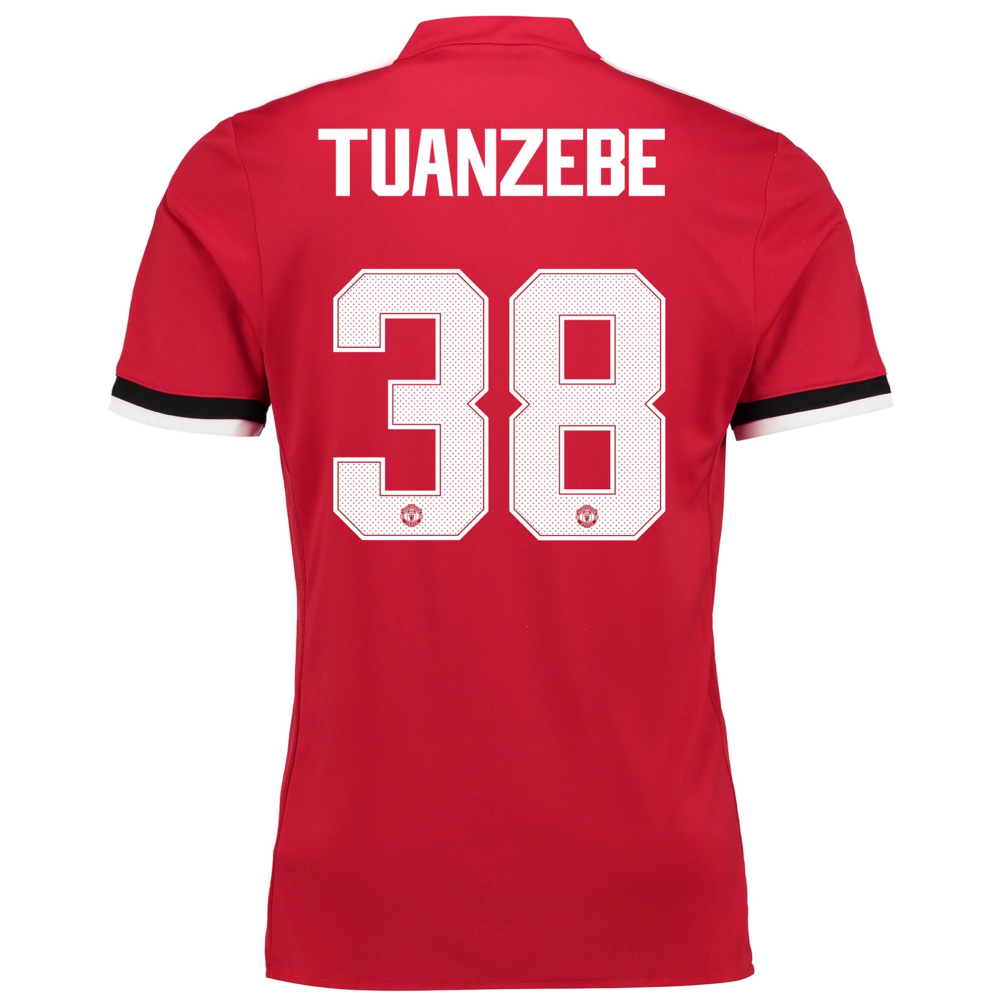 Manchester United Home Cup Shirt 2017-18 - Kids with Tuanzebe 38 print