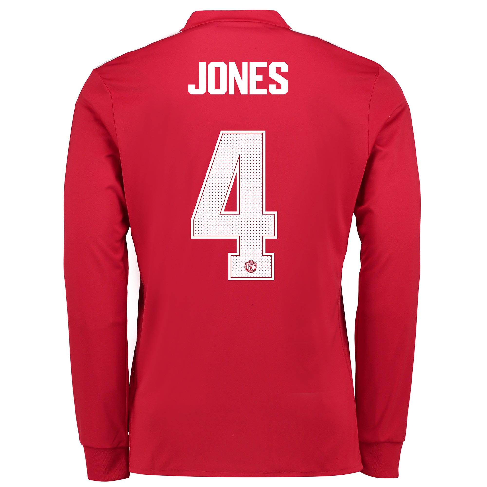Manchester United Home Cup Shirt 2017-18 - Kids - Long Sleeve with Jon