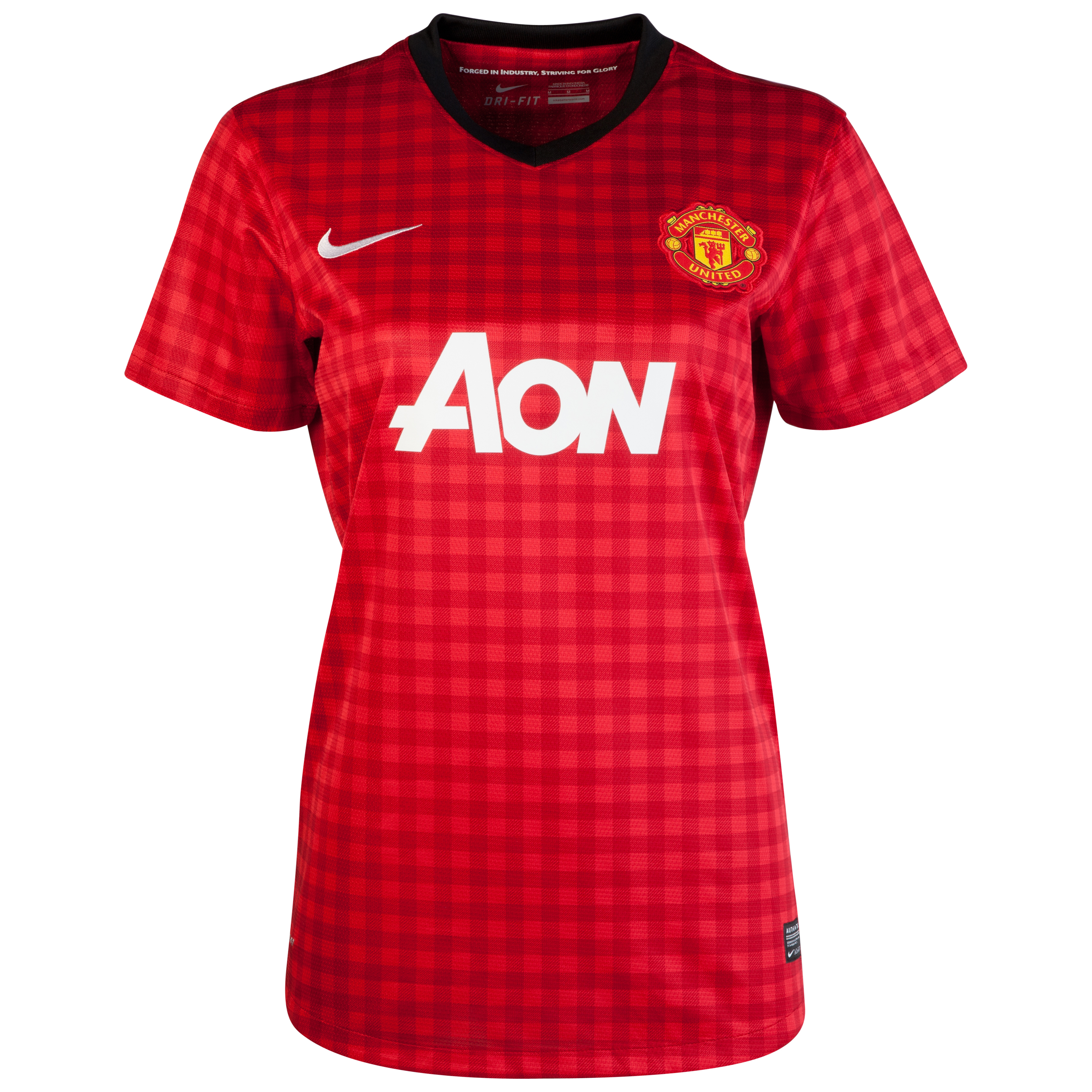 Manchester United Home Shirt 2012/13 - Womens