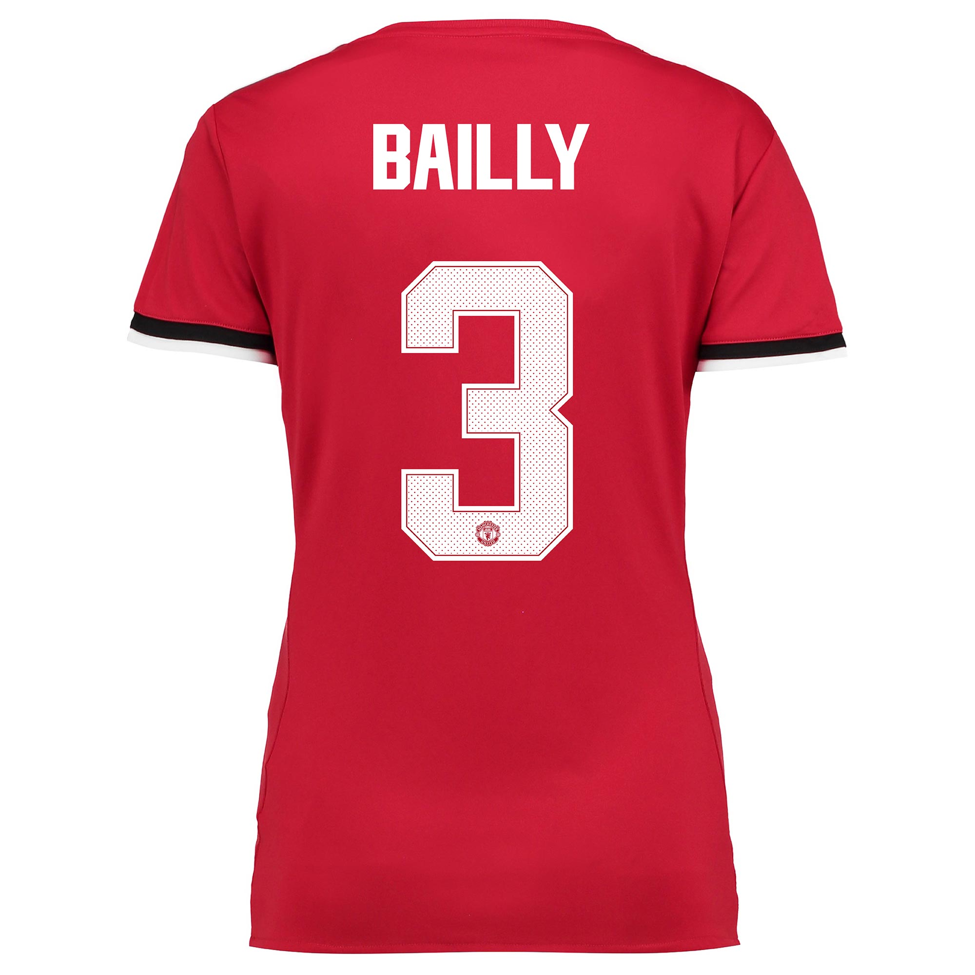 Manchester United Home Cup Shirt 2017-18 - Womens with Bailly 3 printi