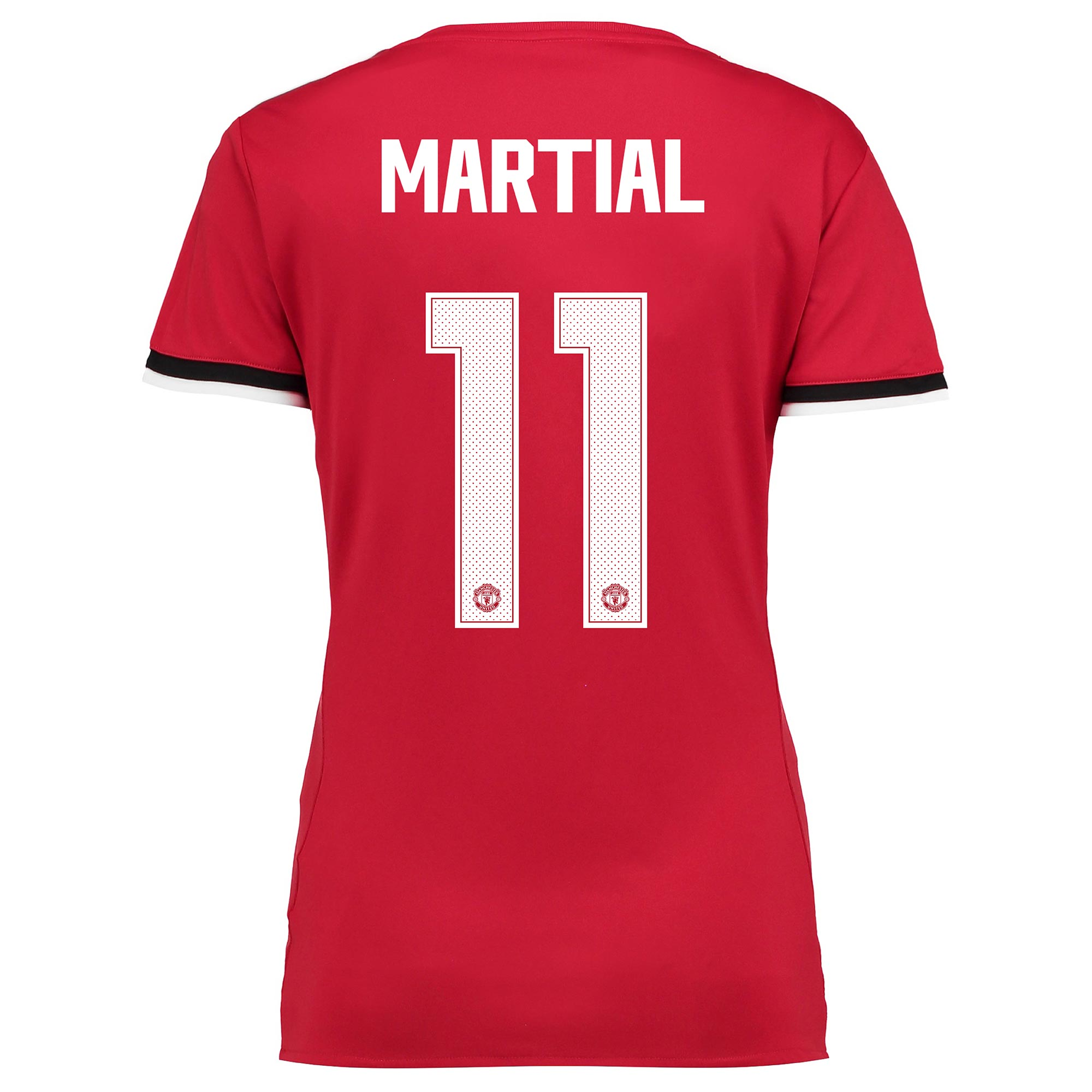 Manchester United Home Cup Shirt 2017-18 - Womens with Martial 11 prin
