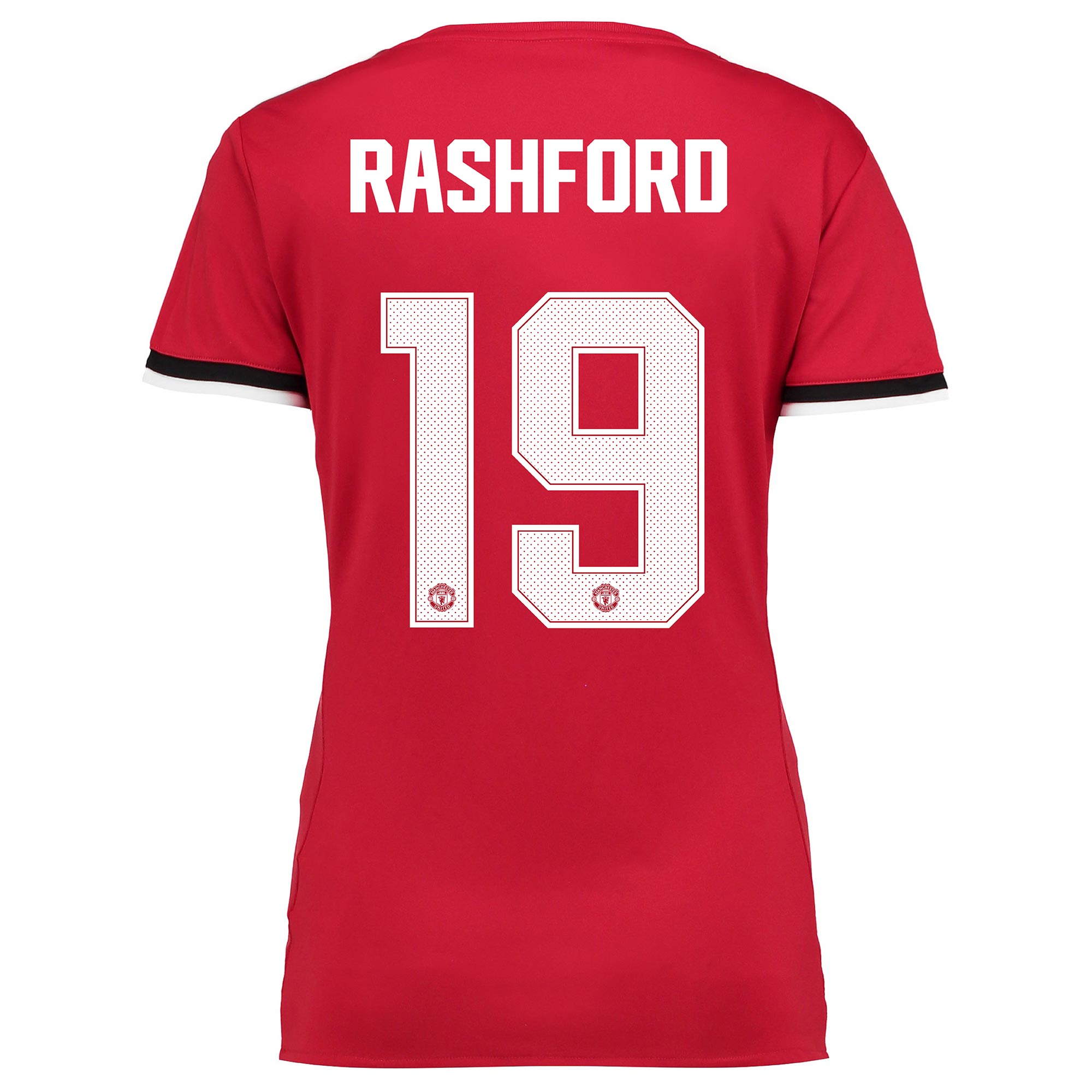 Manchester United Home Cup Shirt 2017-18 - Womens with Rashford 19 pri