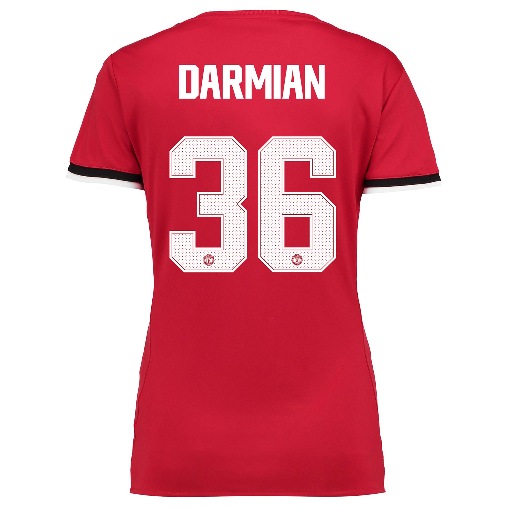 Manchester United Home Cup Shirt 2017-18 - Womens with Darmian 36 prin