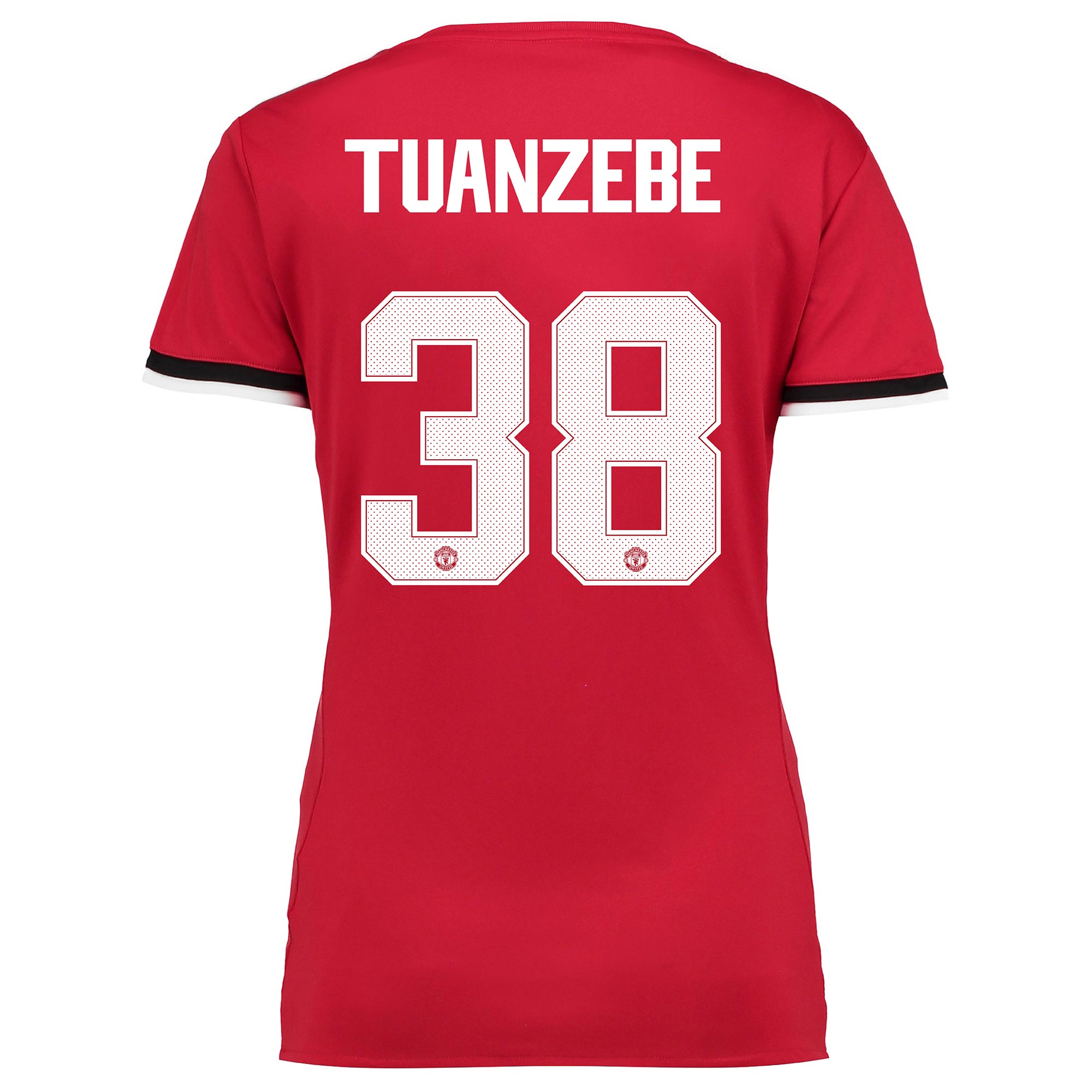 Manchester United Home Cup Shirt 2017-18 - Womens with Tuanzebe 38 pri