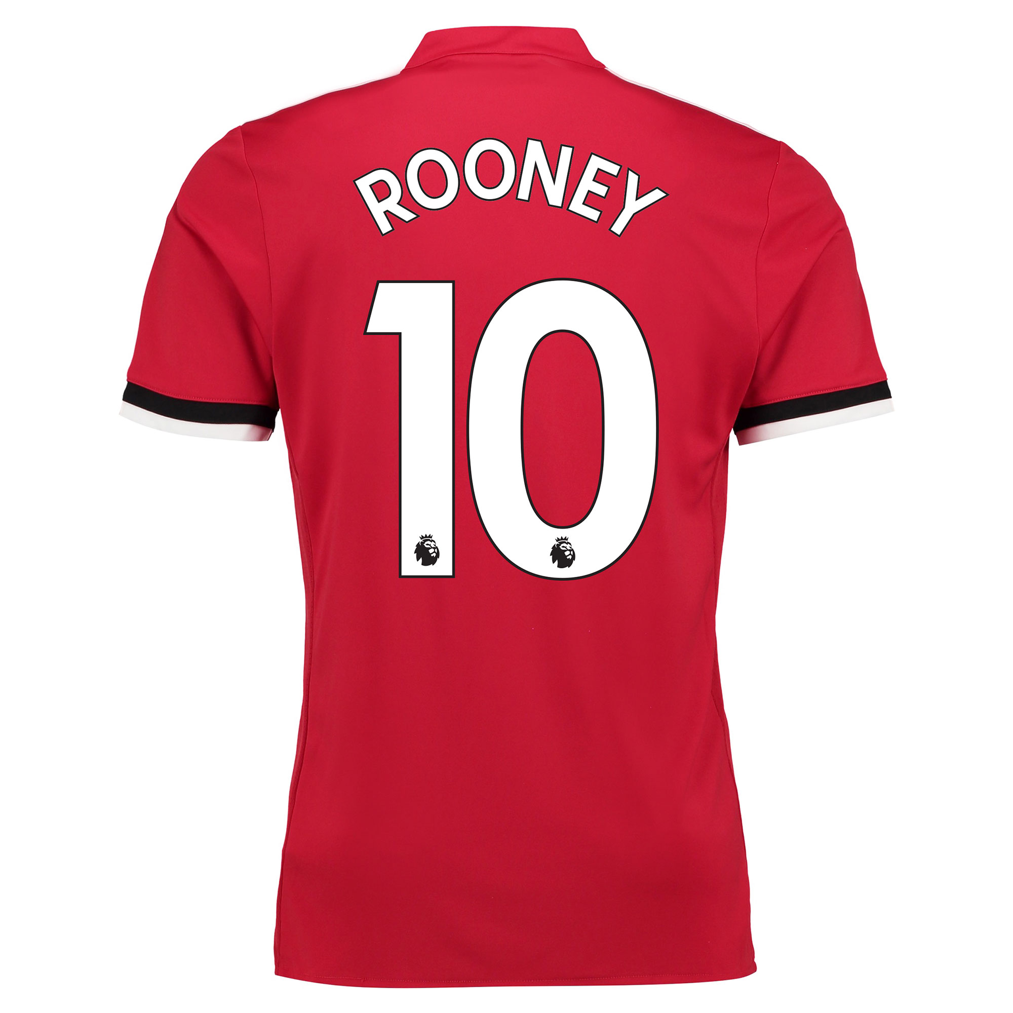 Manchester United Home Shirt 2017-18 with Rooney 10 printing