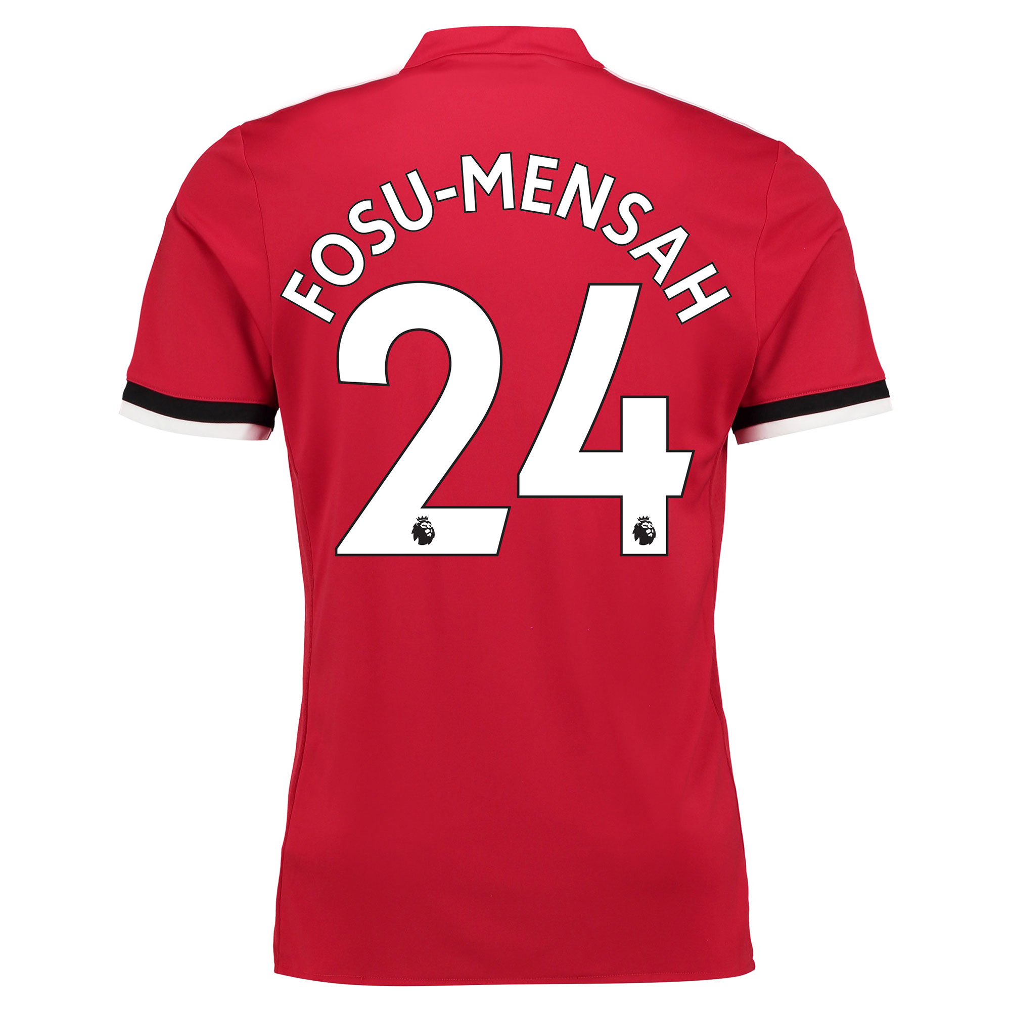 Manchester United Home Shirt 2017-18 with Fosu-Mensah 24 printing