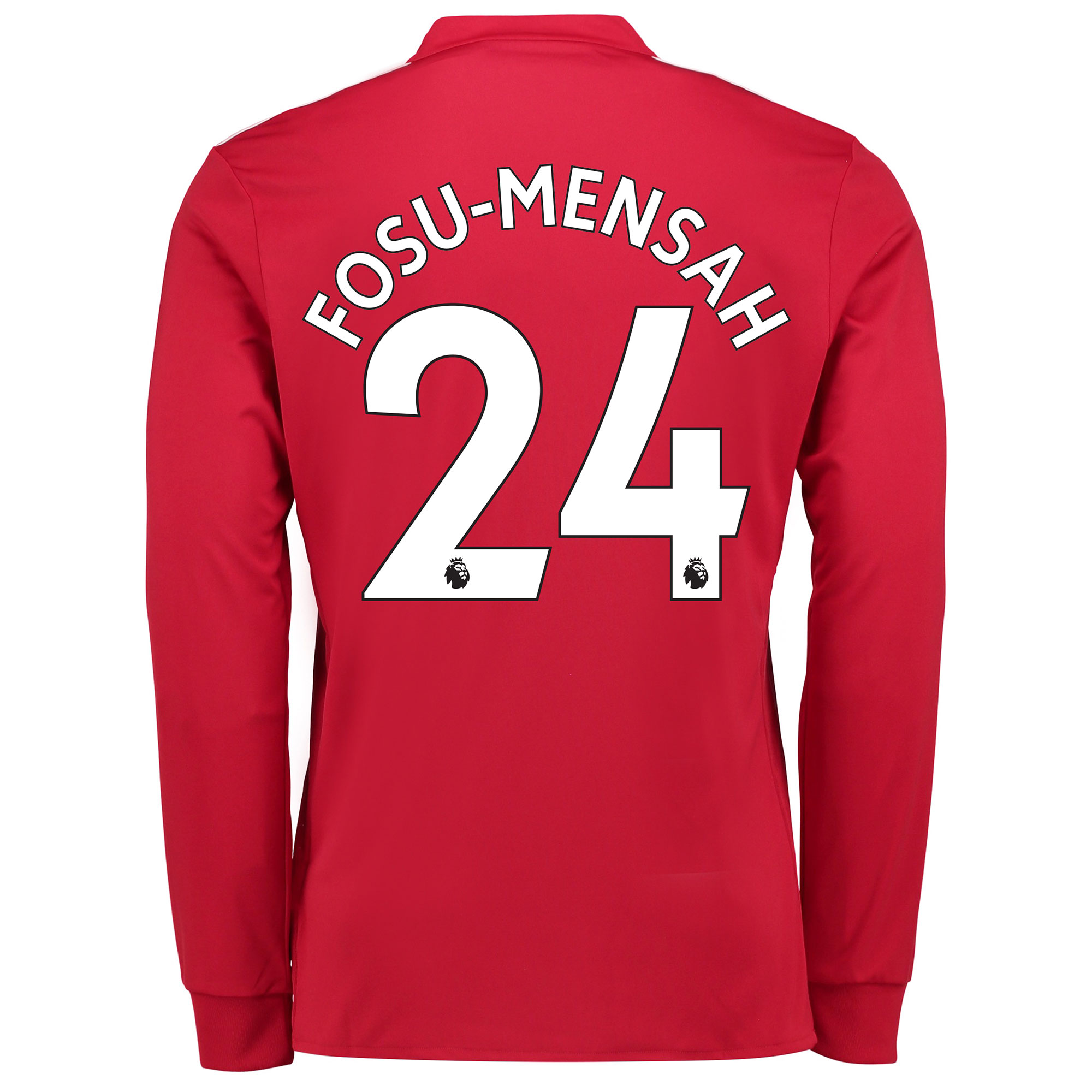Manchester United Home Shirt 2017-18 - Long Sleeve with Fosu-Mensah 24