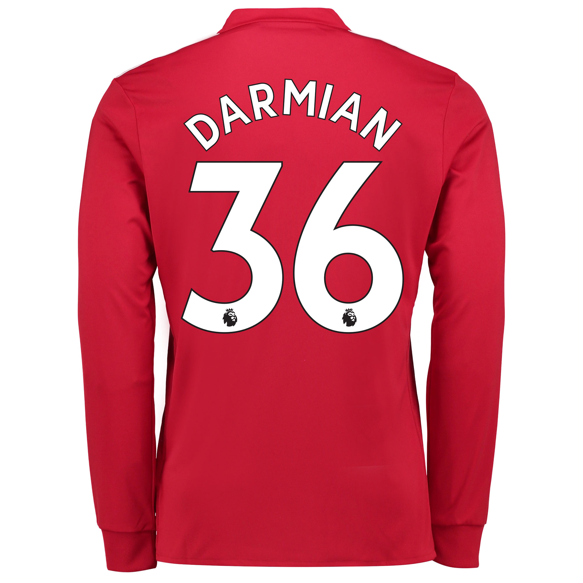 Manchester United Home Shirt 2017-18 - Long Sleeve with Darmian 36 pri