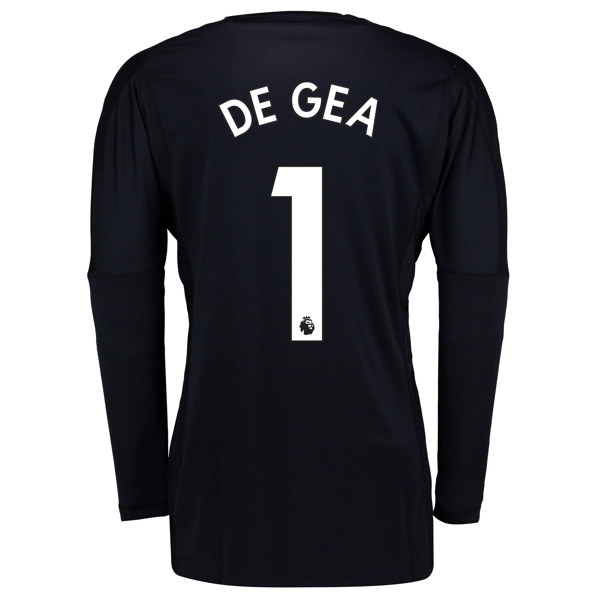 Manchester United Home Goalkeeper Shirt 2017-18 with De Gea 1 printing
