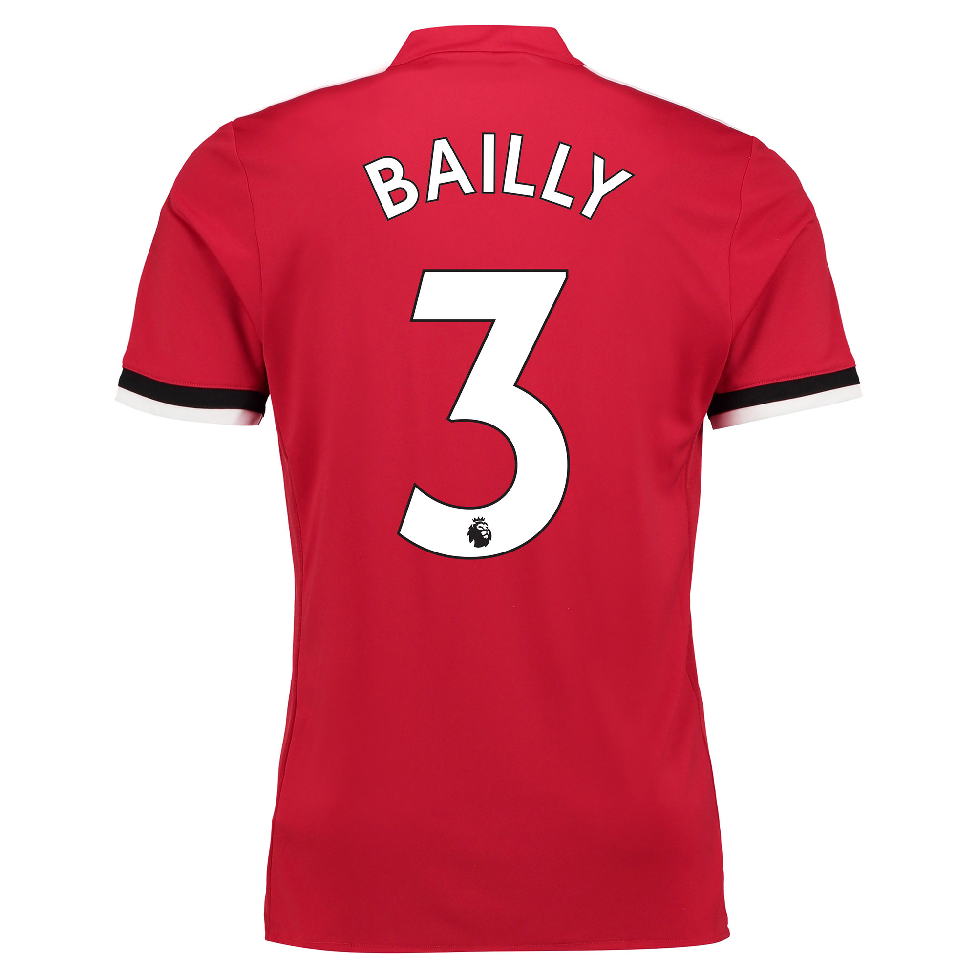 Manchester United Home Shirt 2017-18 - Kids with Bailly 3 printing