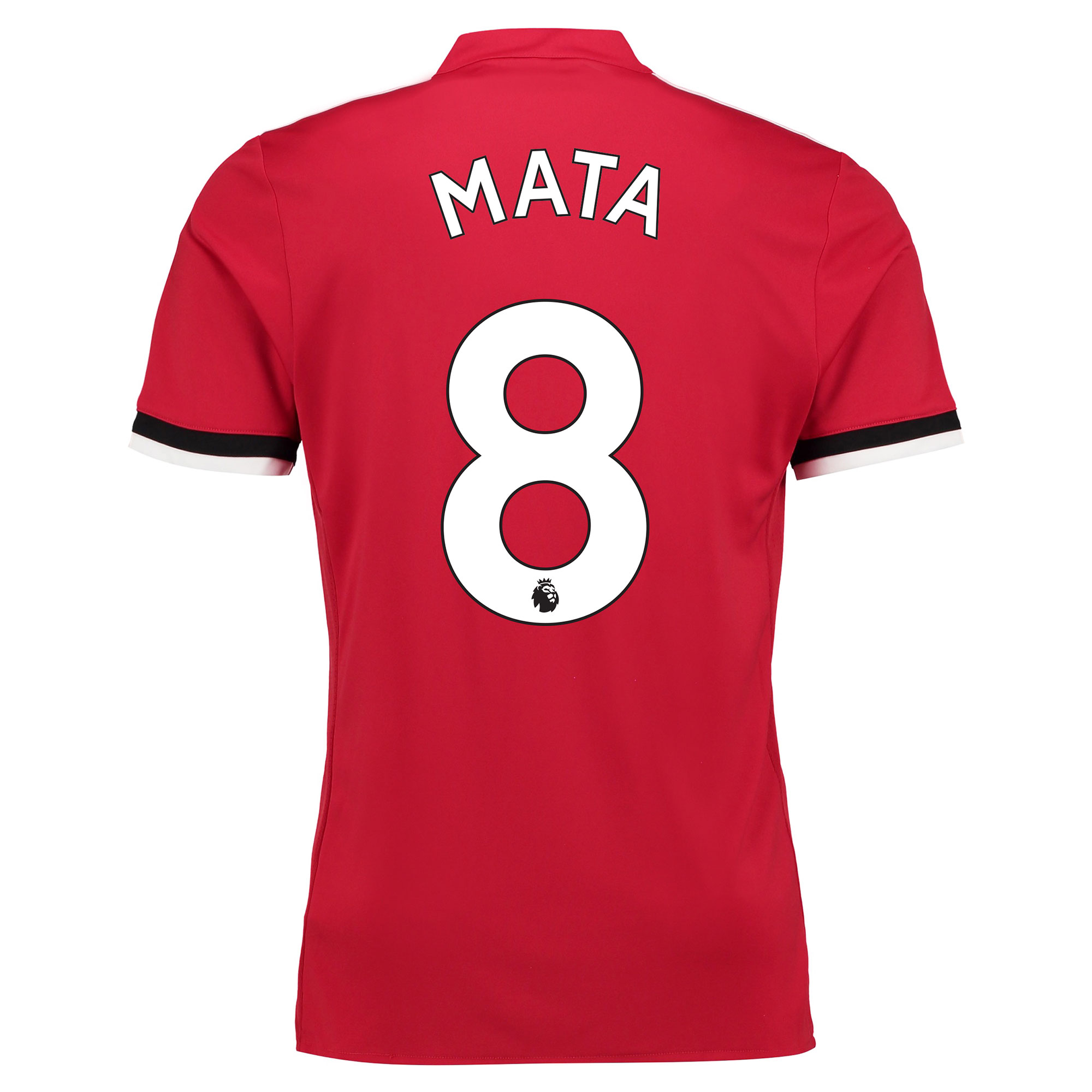 Manchester United Home Shirt 2017-18 - Kids with Mata 8 printing