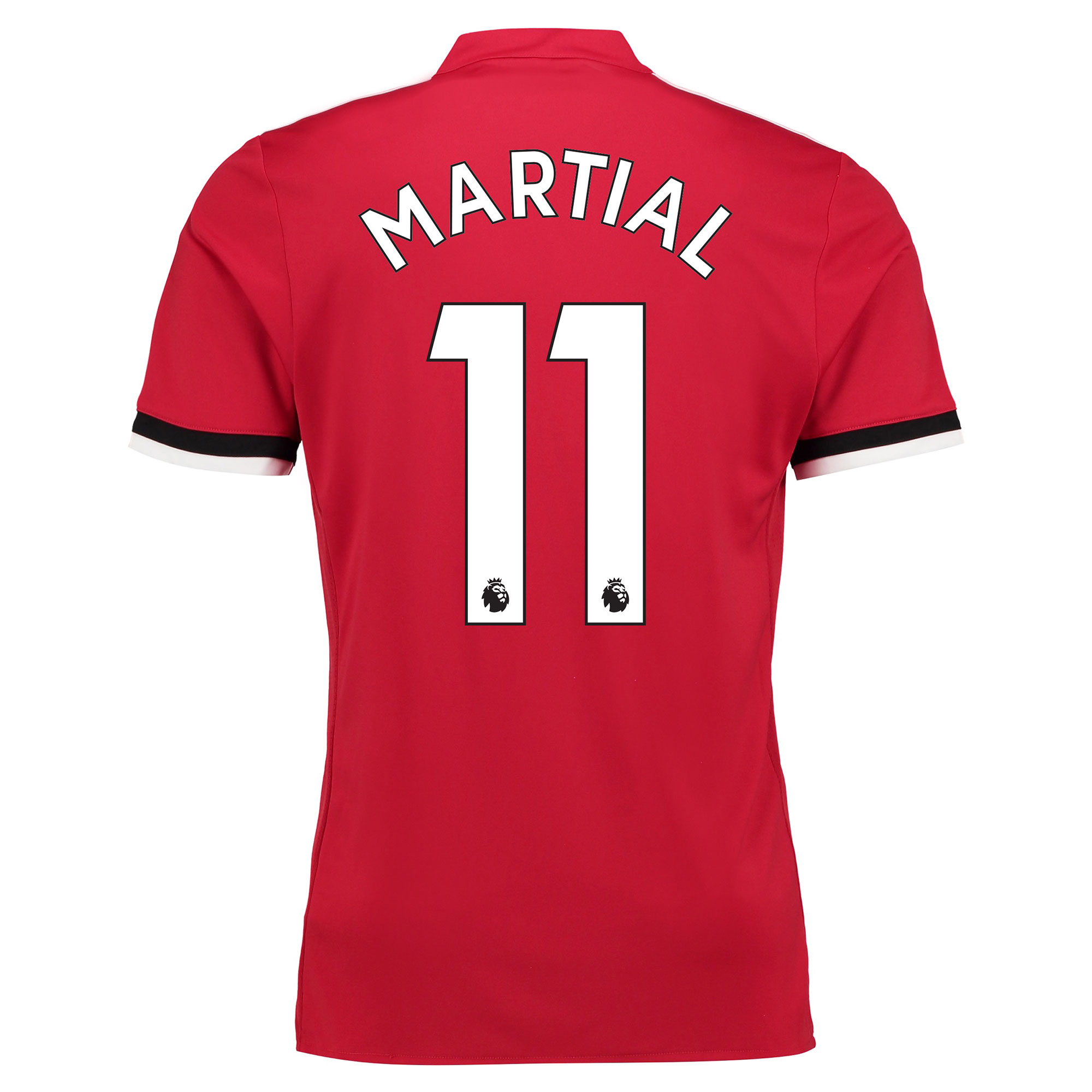 Manchester United Home Shirt 2017-18 - Kids with Martial 11 printing