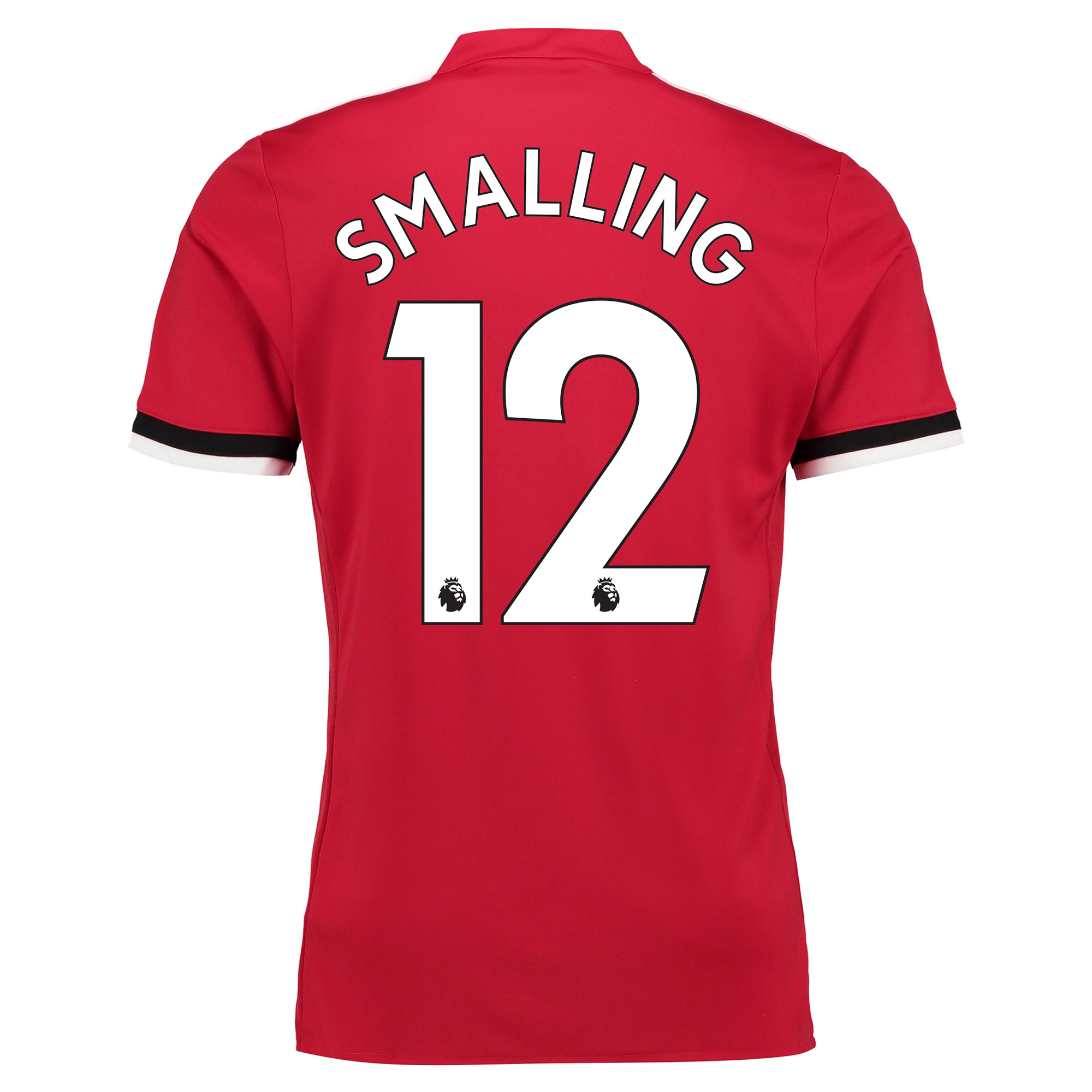 Manchester United Home Shirt 2017-18 - Kids with Smalling 12 printing