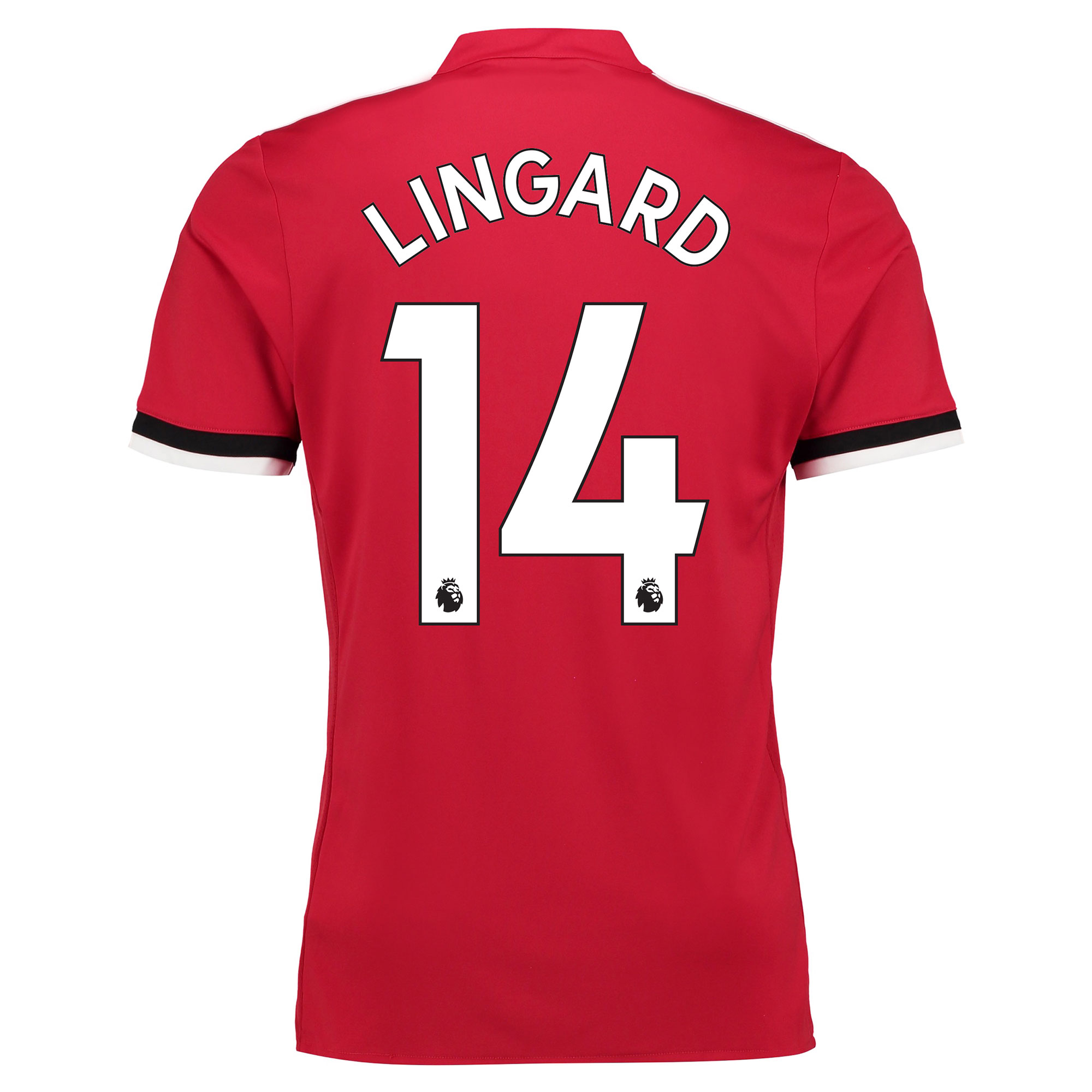 Manchester United Home Shirt 2017-18 - Kids with Lingard 14 printing