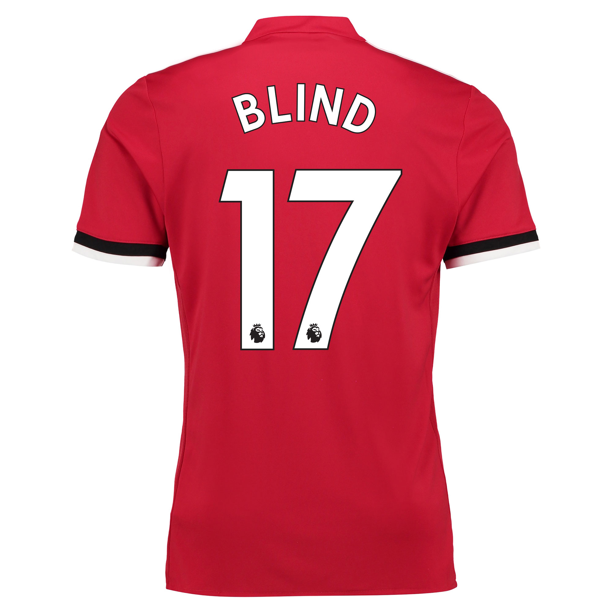 Manchester United Home Shirt 2017-18 - Kids with Blind 17 printing